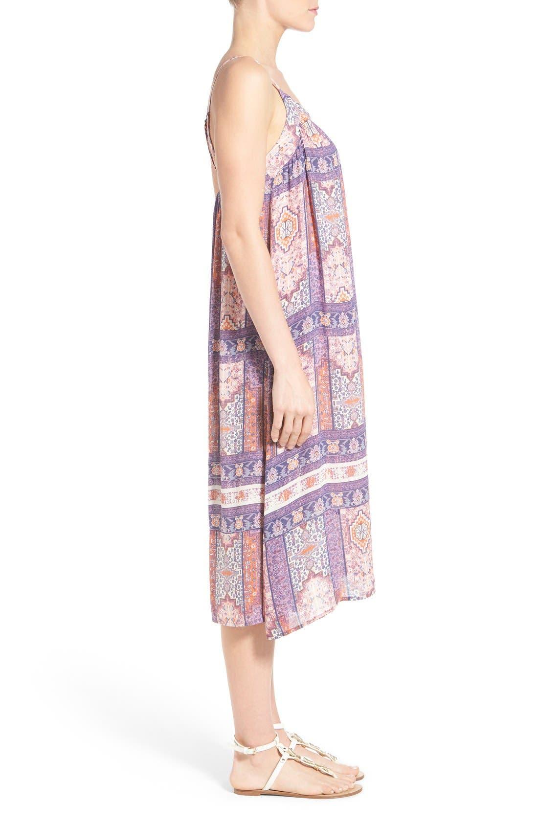 Alternate Image 3  - Lucky Brand Tapestry Print Sundress