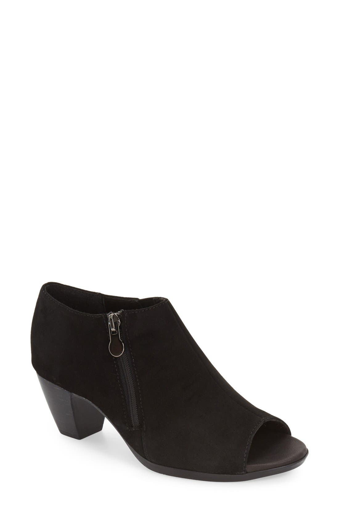 Munro 'Luisa' Open Toe Bootie (Women)