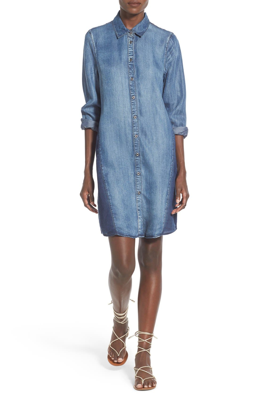 Standards & Practices Woven Shirtdress