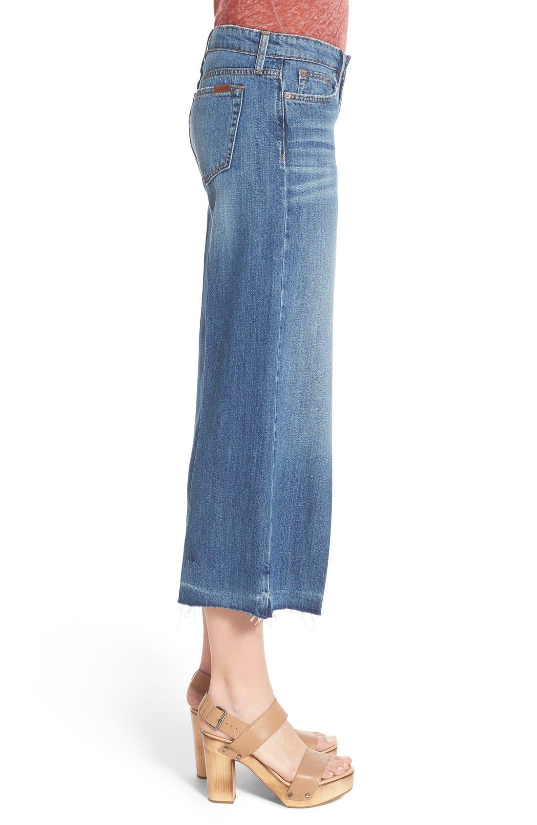 Alternate Image 3  - Joe's 'The Gaucho' Crop Flare Jeans (Edie)