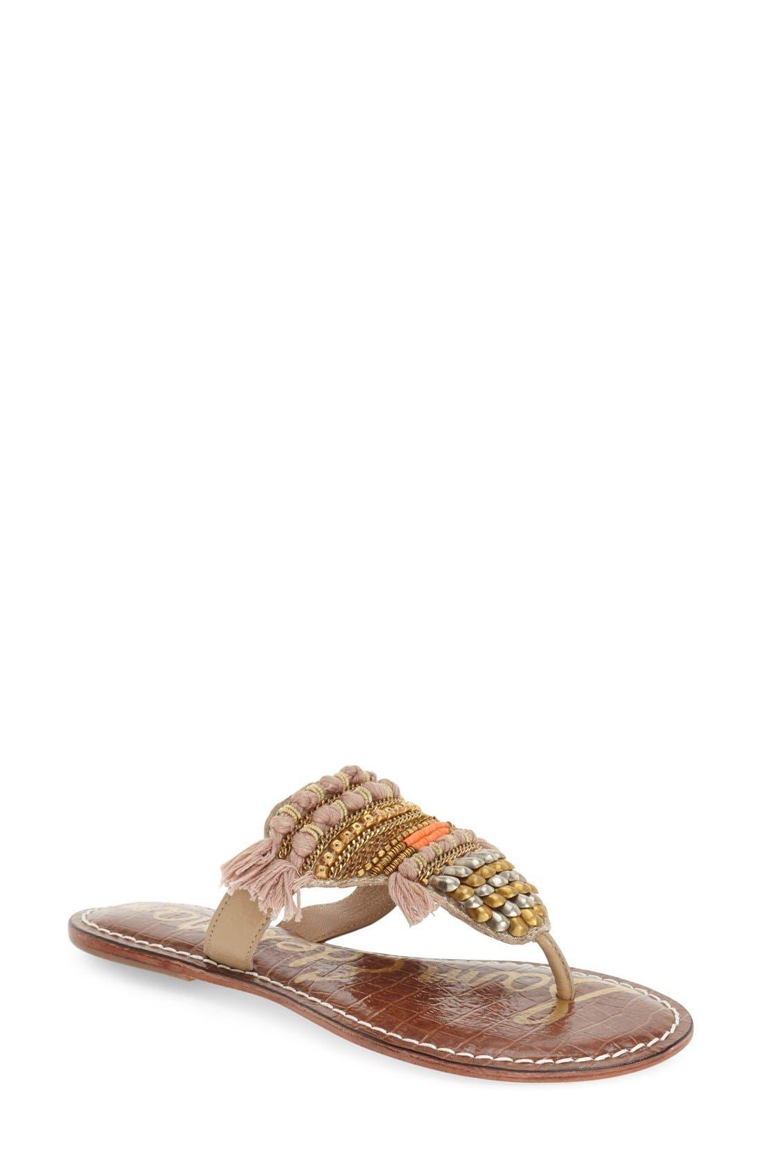 Main Image - Sam Edelman 'Kathy' Thong Sandal (Women)