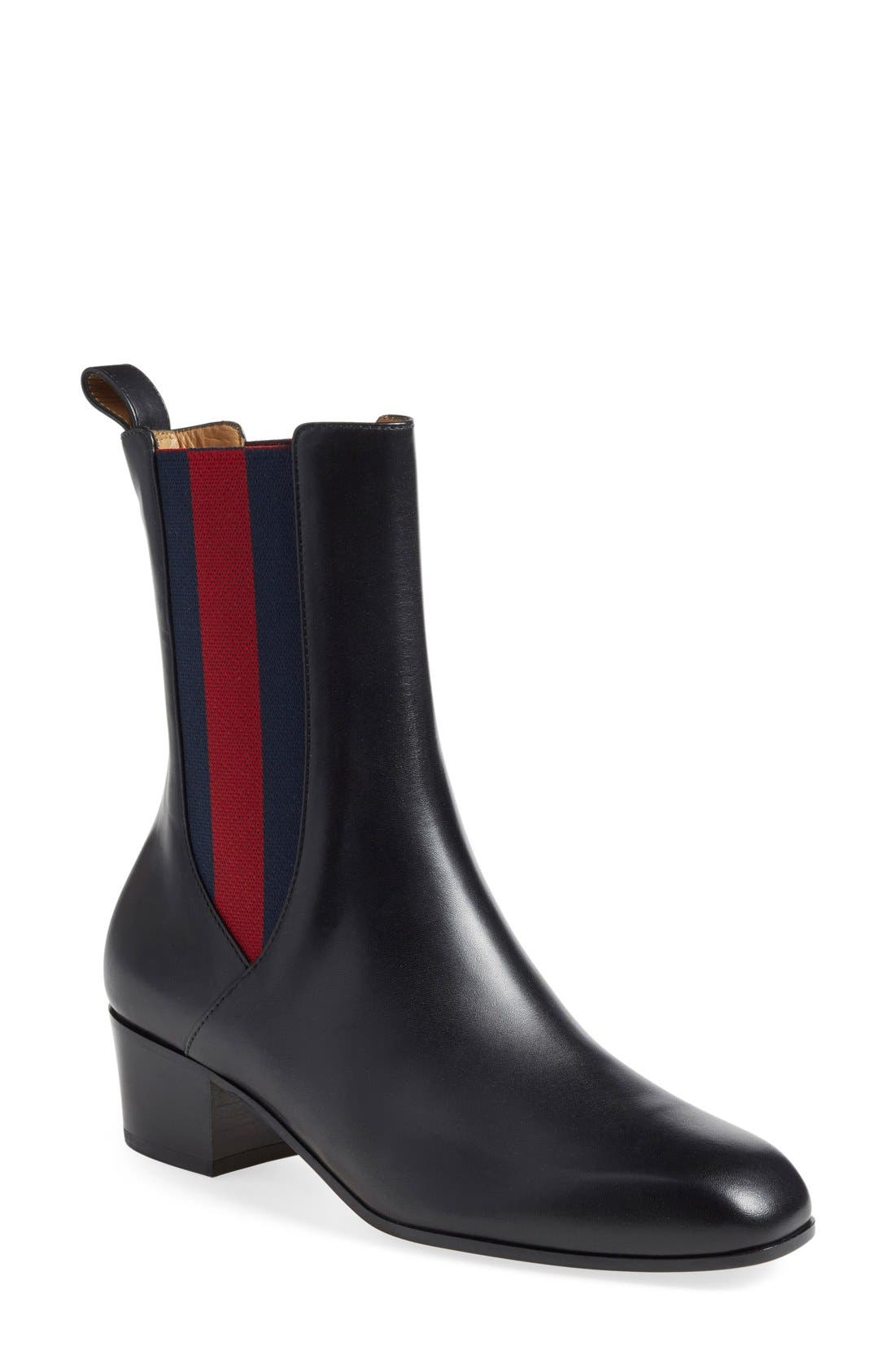 Gucci 'Karen' Slip-On Bootie (Women)