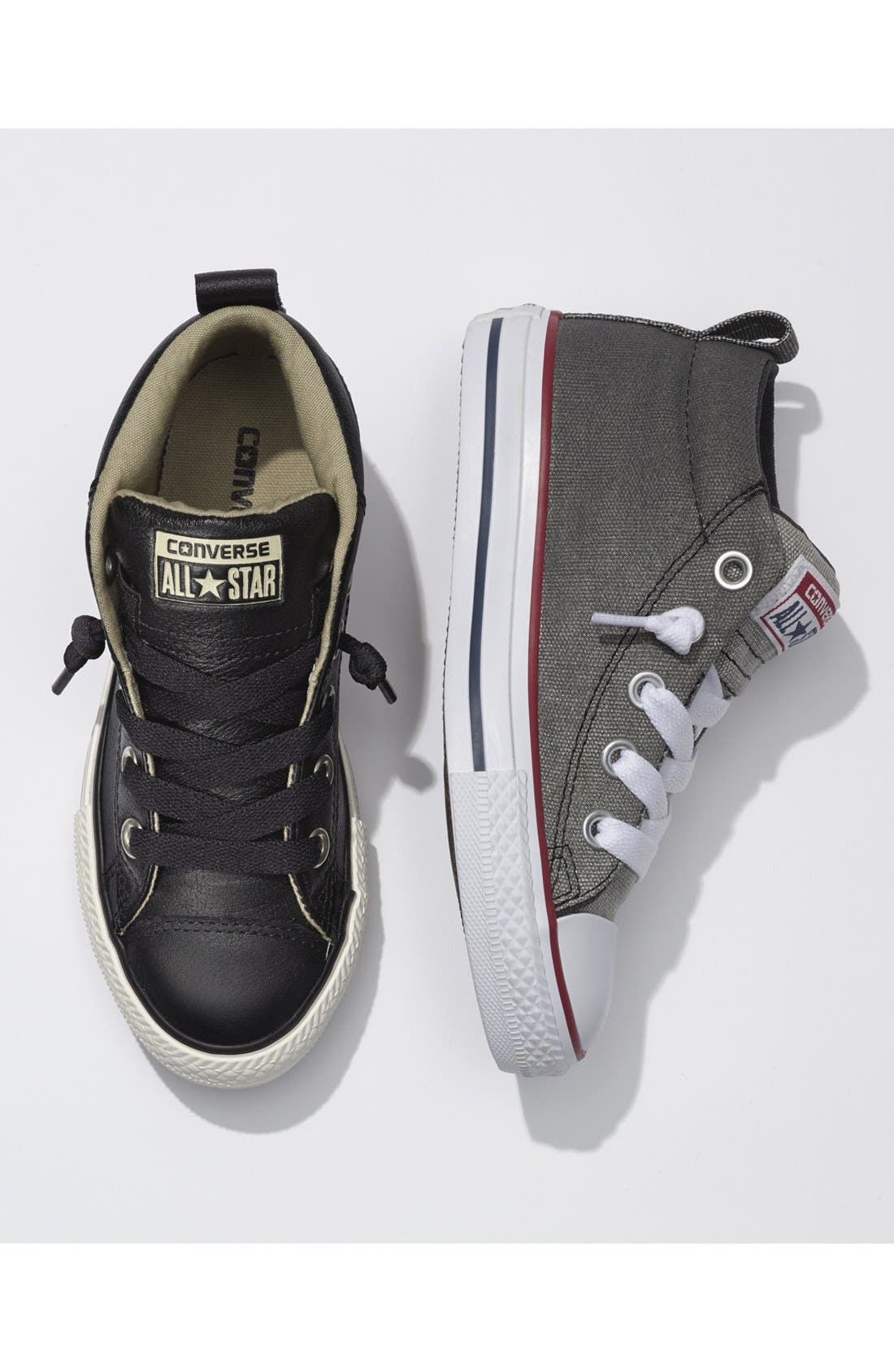 Alternate Image 6  - Converse Chuck Taylor® All Star® 'CTAS Street' Mid Sneaker (Baby, Walker, Toddler Little Kid & Big Kid)