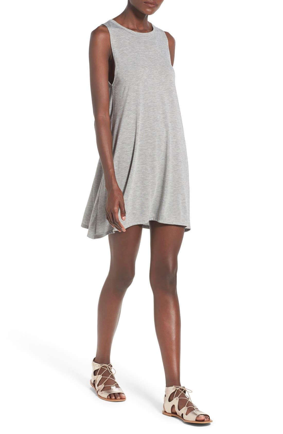 Alternate Image 4  - Billabong 'Last Call' Sleeveless Swing Dress