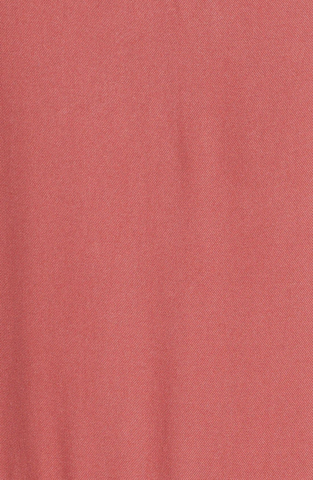 Alternate Image 5  - BP. Sleeveless Woven Shirtdress