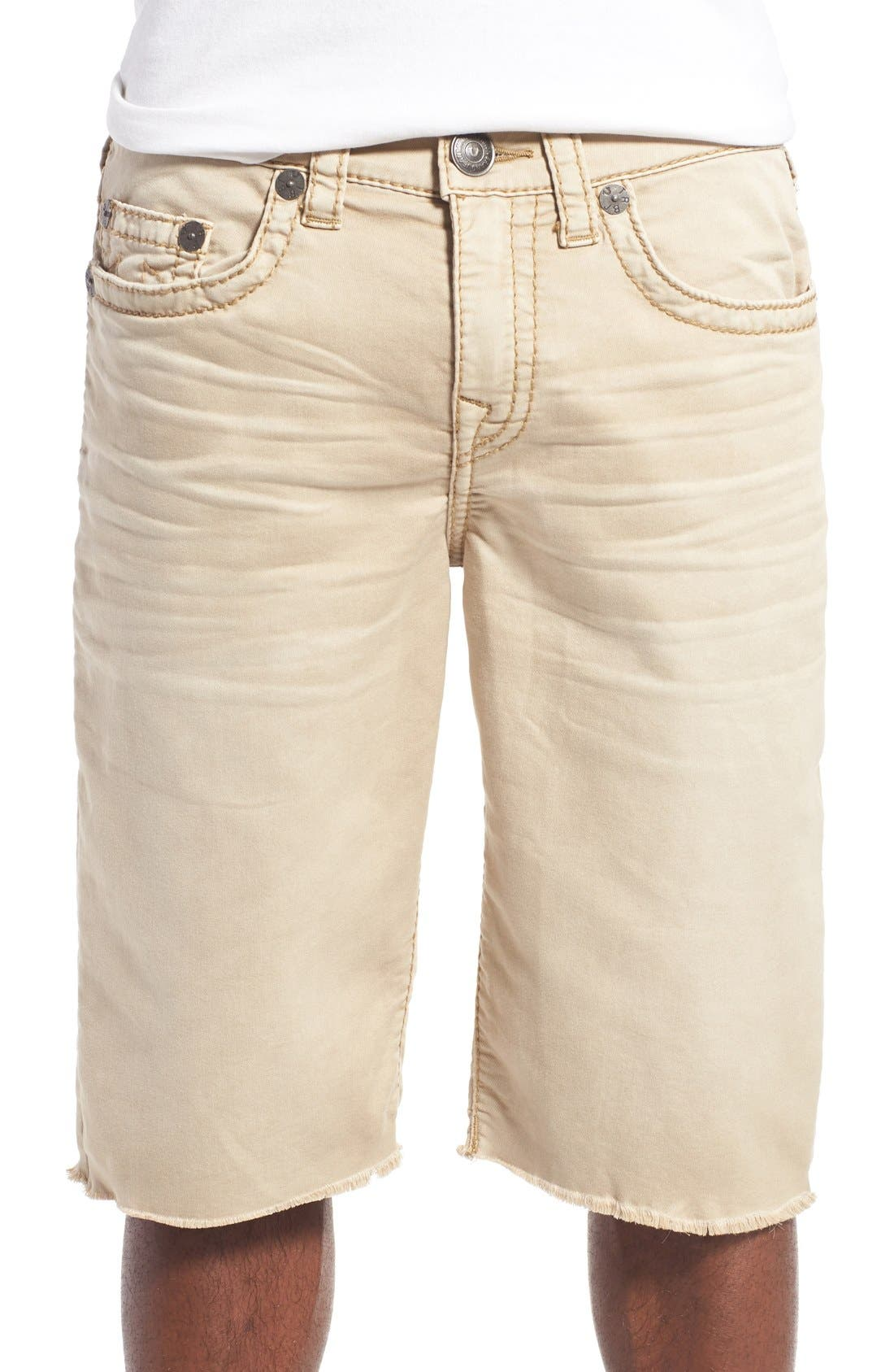 True Religion Brand Jeans 'Geno' Cutoff Denim Shorts
