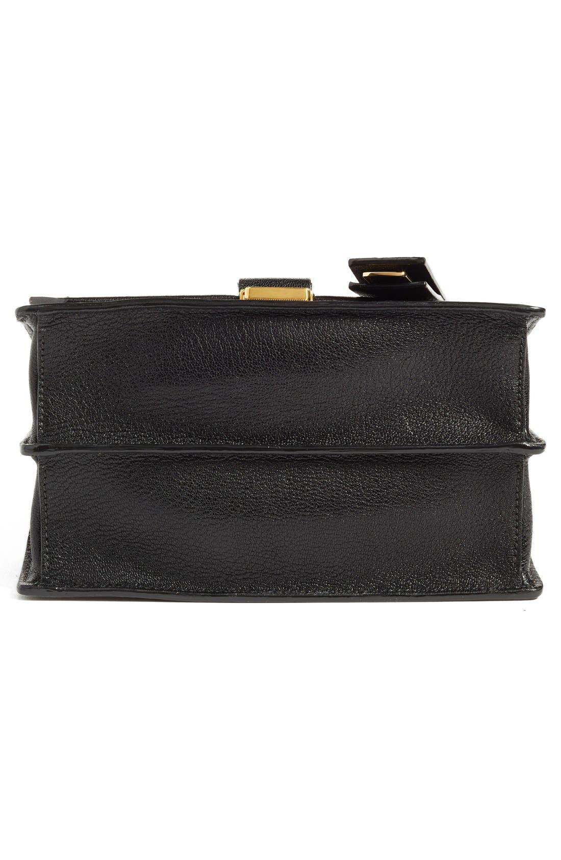 Alternate Image 6  - Miu Miu 'Small Madras' Goatskin Leather Shoulder Bag