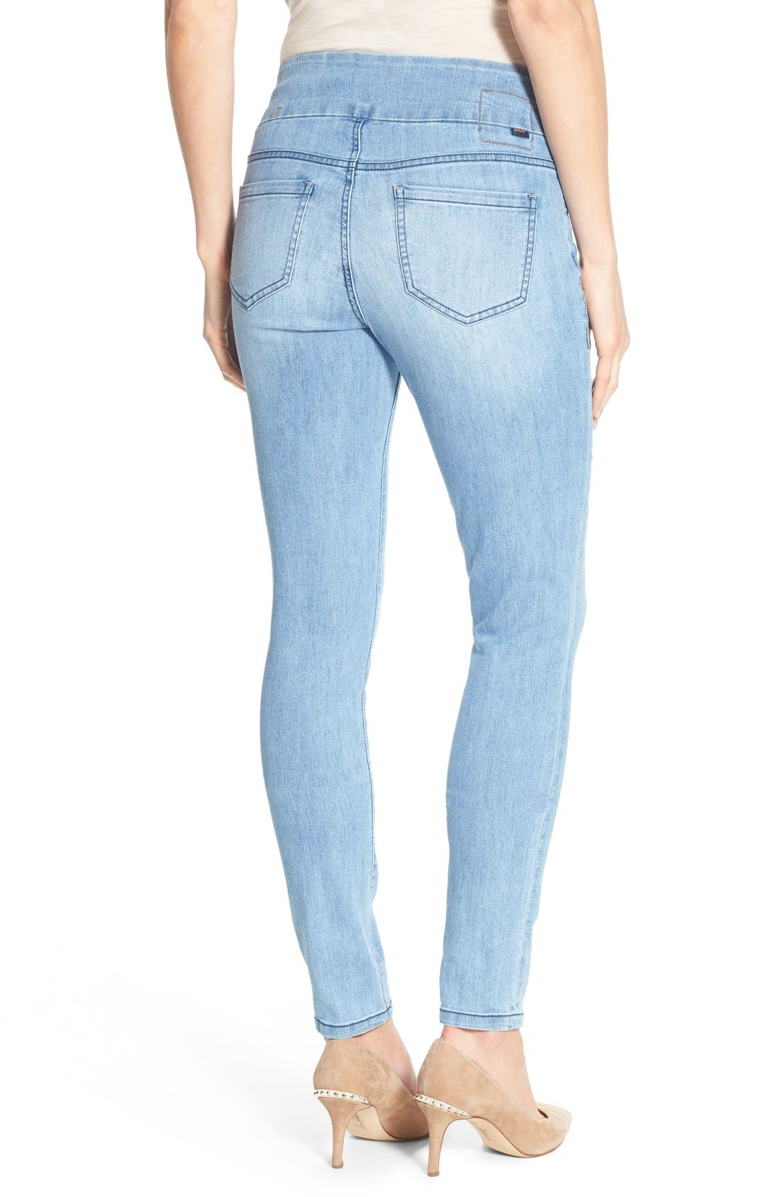 Alternate Image 2  - Jag Jeans 'Nora' Pull-On Stretch Skinny Jeans (Southern Sky)