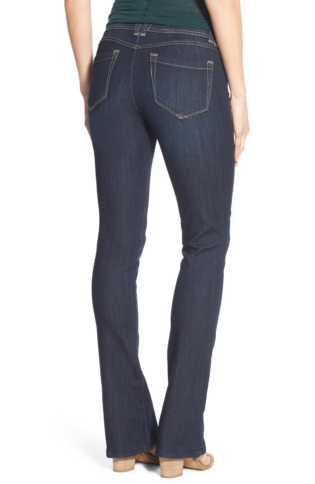 Alternate Image 2  - Wit & Wisdom Ab-solution Itty Bitty Bootcut Jeans (Regular & Petite)