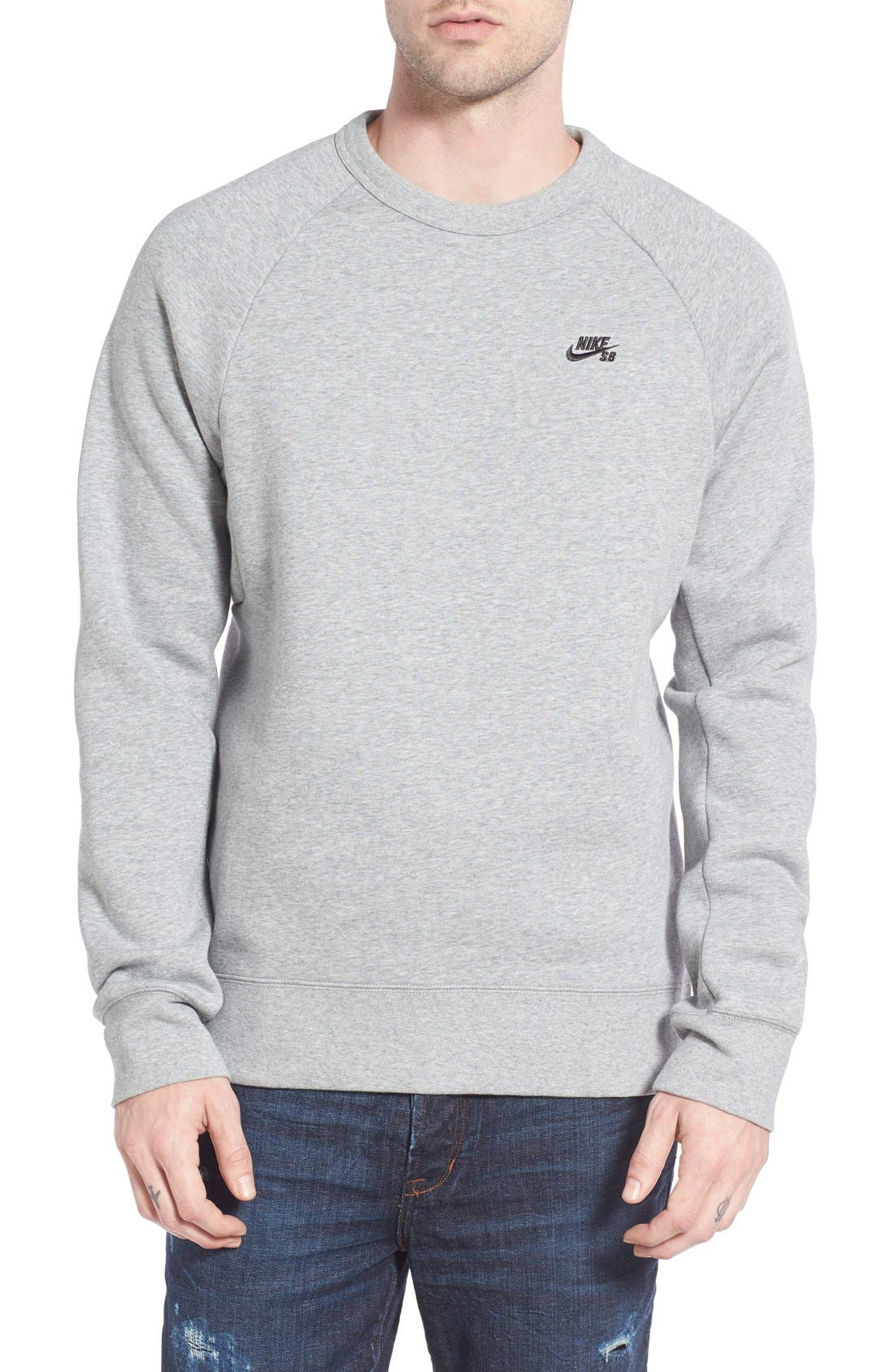 Alternate Image 1 Selected - Nike SB 'Icon' Raglan Sweatshirt