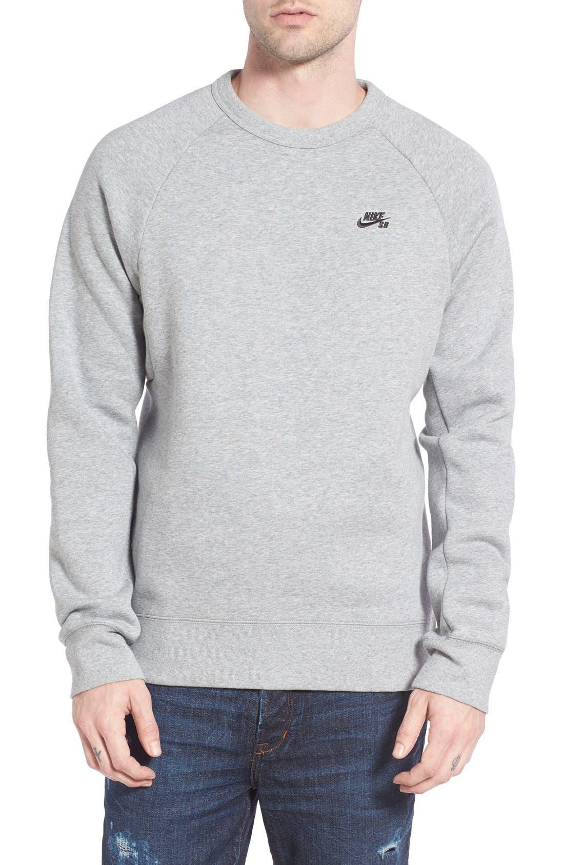 Main Image - Nike SB 'Icon' Raglan Sweatshirt