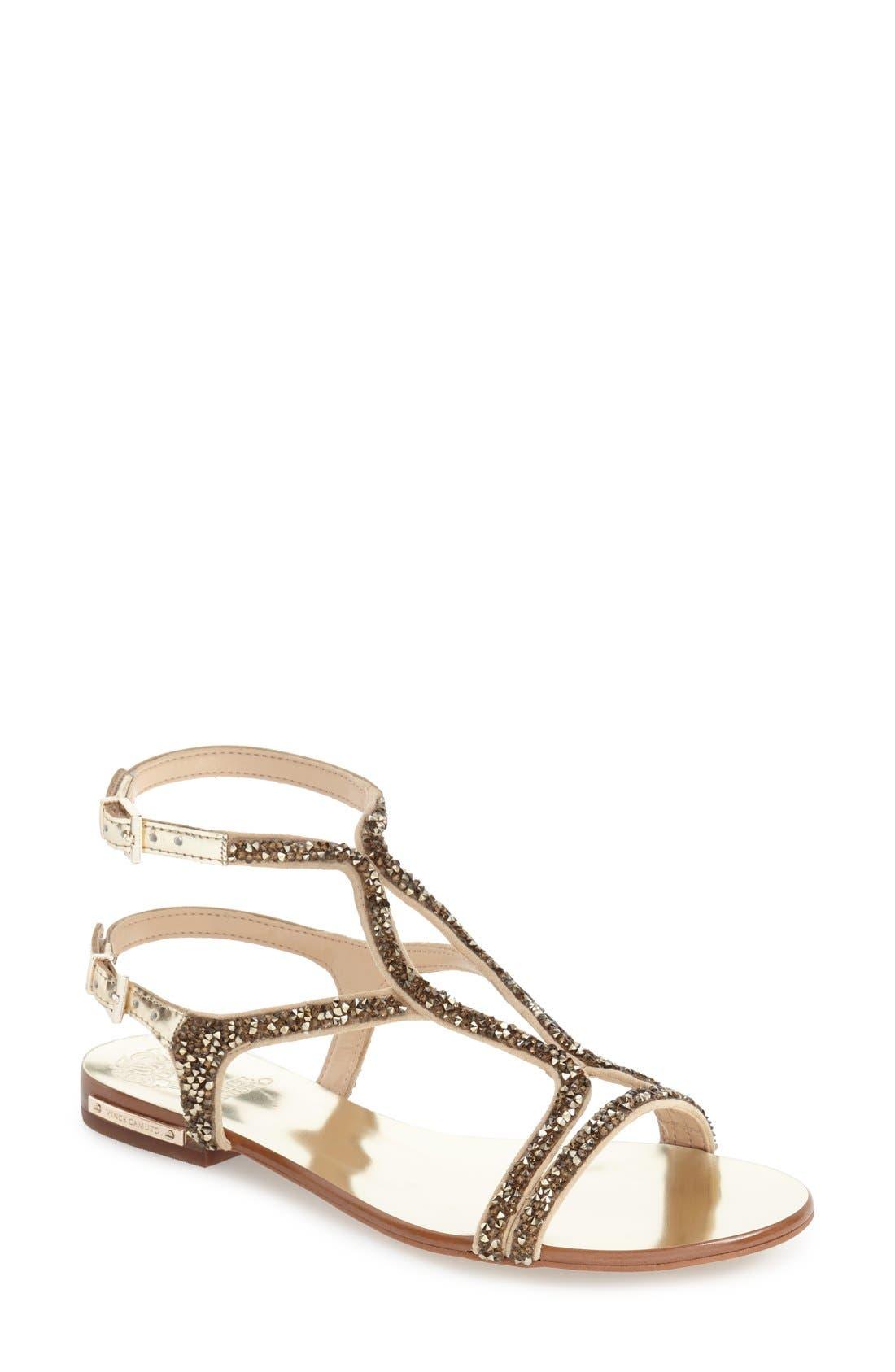 Alternate Image 1 Selected - Vince Camuto 'Jacinta' Ankle Strap Sandal (Women)