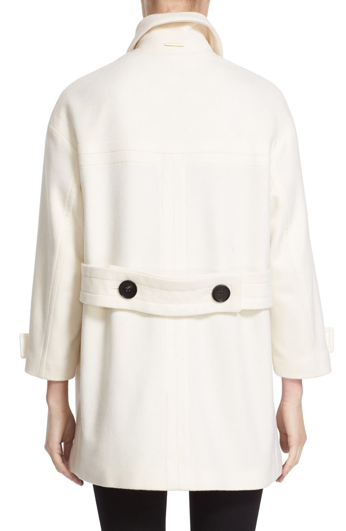 Alternate Image 2  - Burberry Brit 'Plumfield' Cashmere Duffle Coat