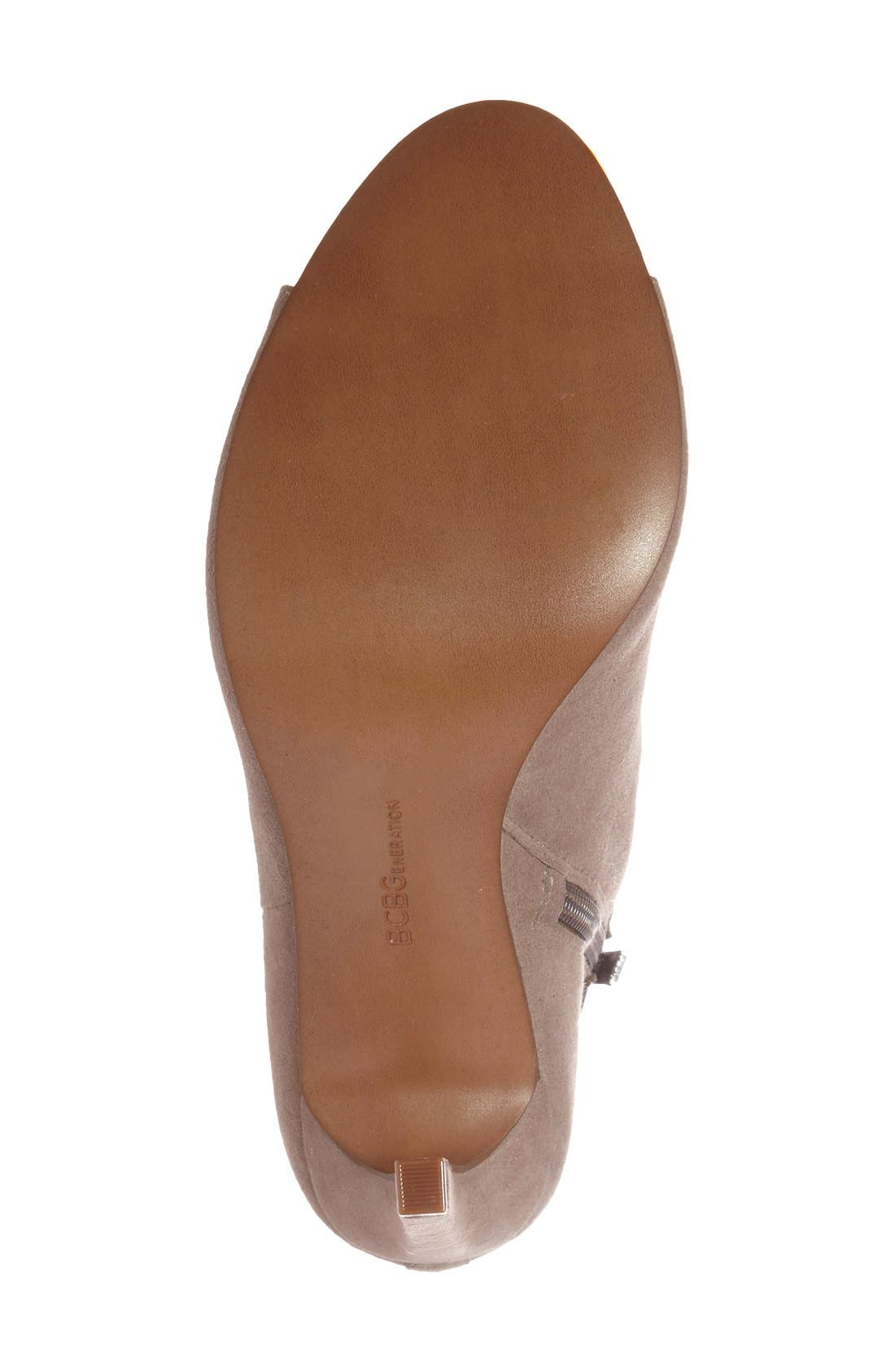 Alternate Image 4  - BCBGeneration 'Carolena' Peep Toe Bootie (Women)