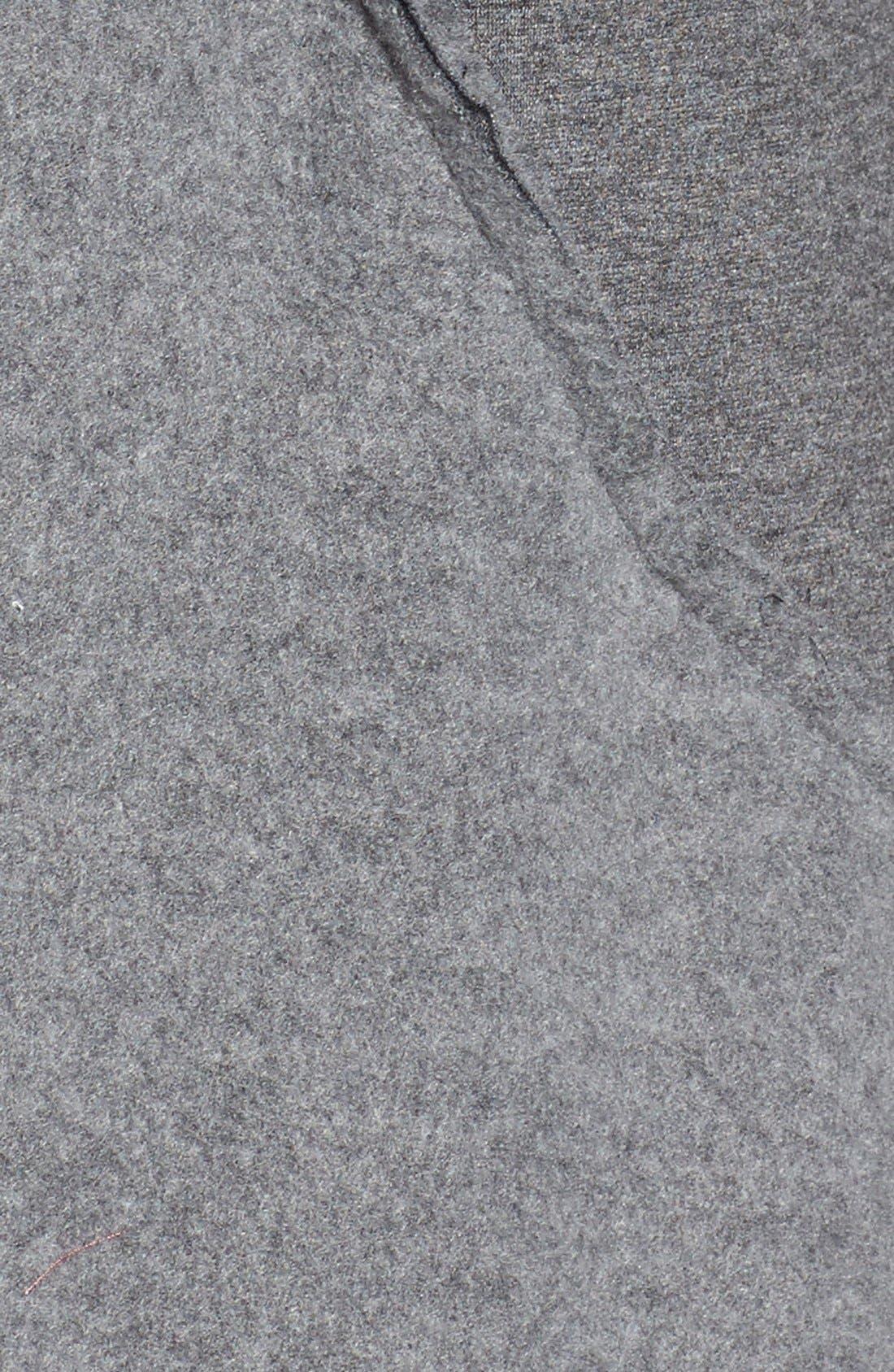 Alternate Image 5  - Bobeau 'Yummy Fleece' Shawl Collar Cardigan