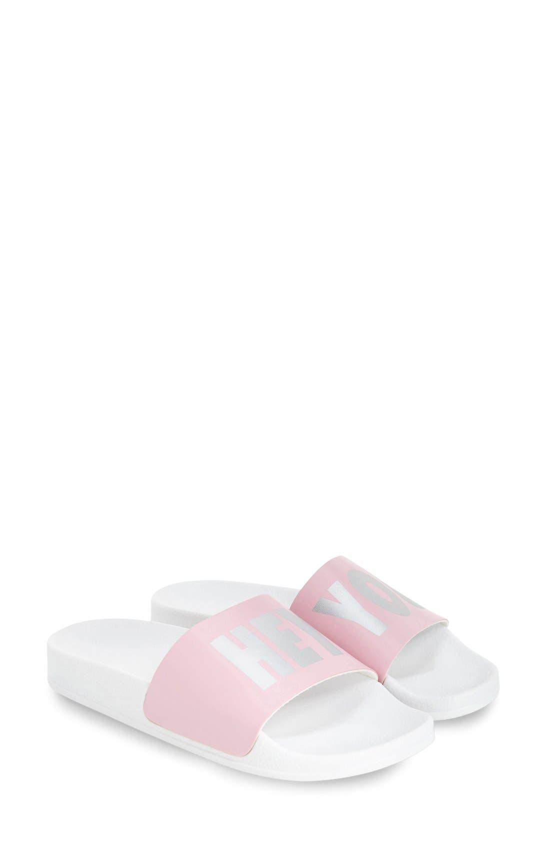 Alternate Image 2  - Topshop 'Haven' Pool Slide Sandal (Women)