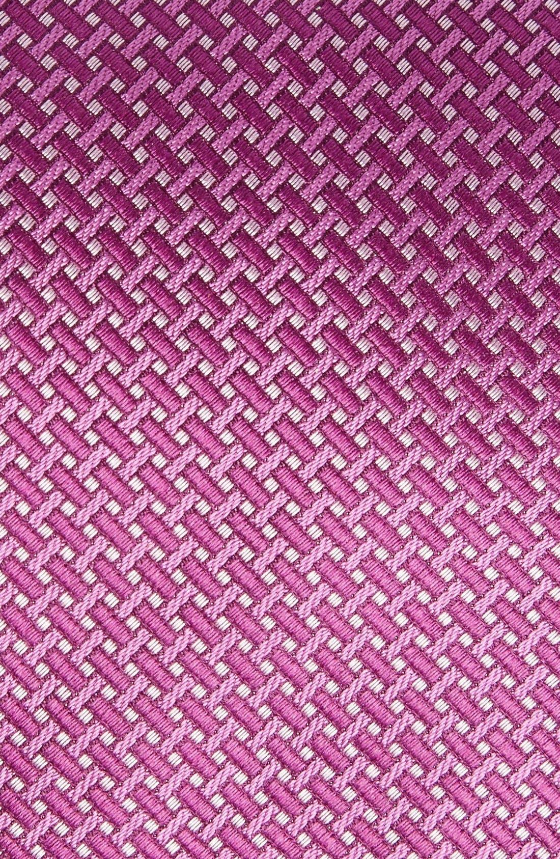 Alternate Image 2  - David Donahue Geometric Silk Tie