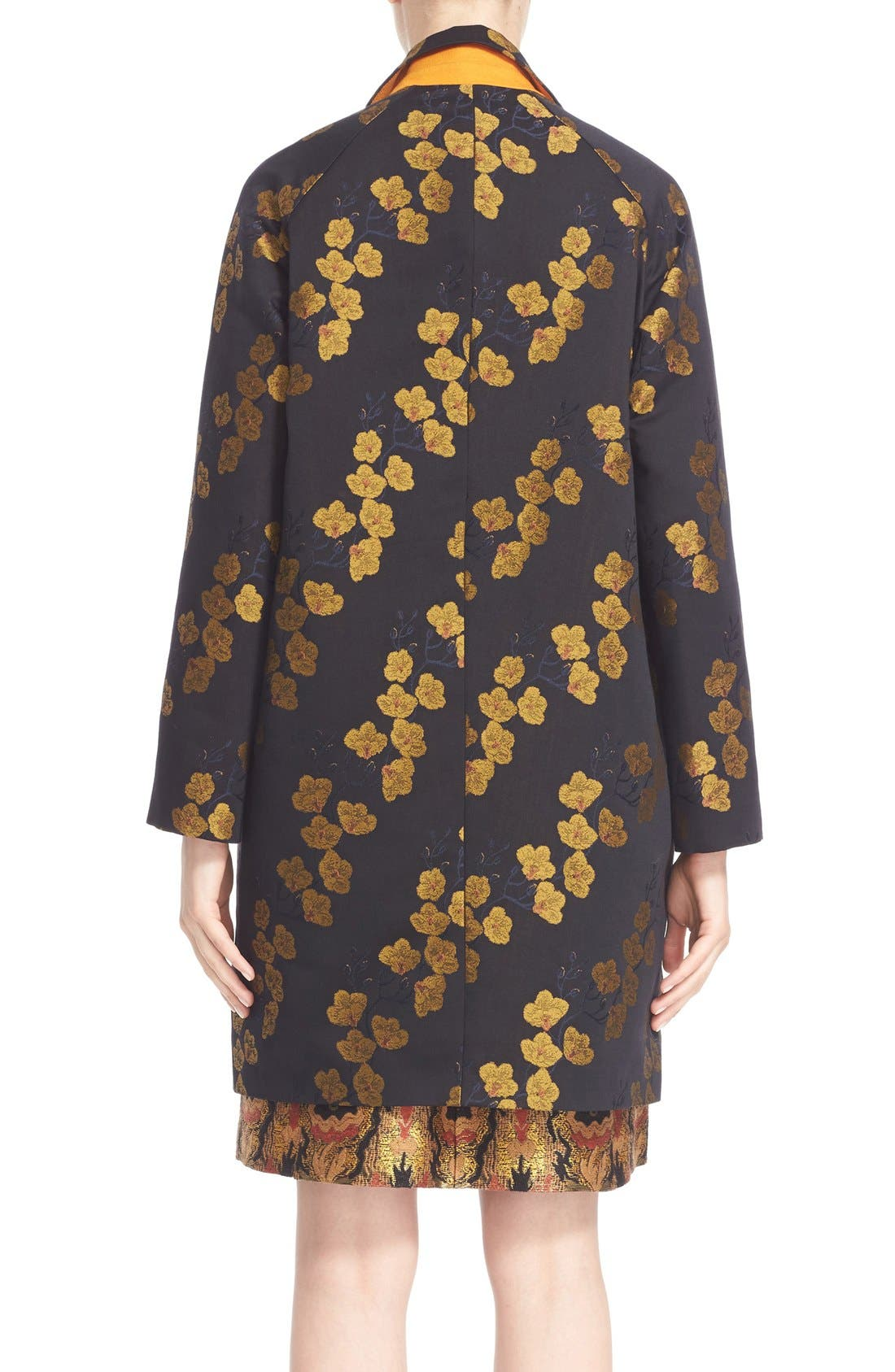 Alternate Image 2  - Etro Jacquard Cocoon Coat