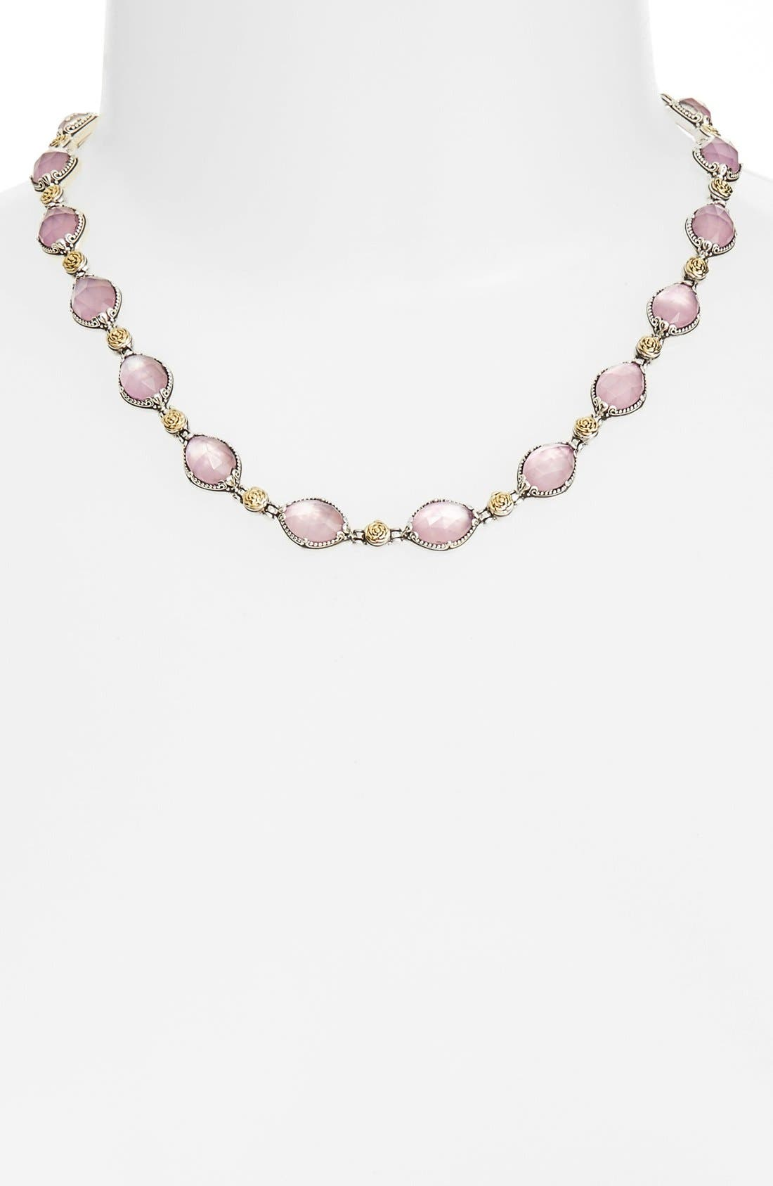 KONSTANTINO 'Iliada' Doublet Collar Necklace
