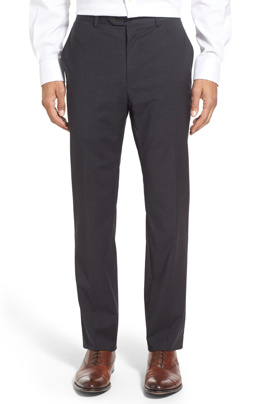 Alternate Image 7  - Todd Snyder White Label 'May Fair' Trim Fit Solid Stretch Wool Suit