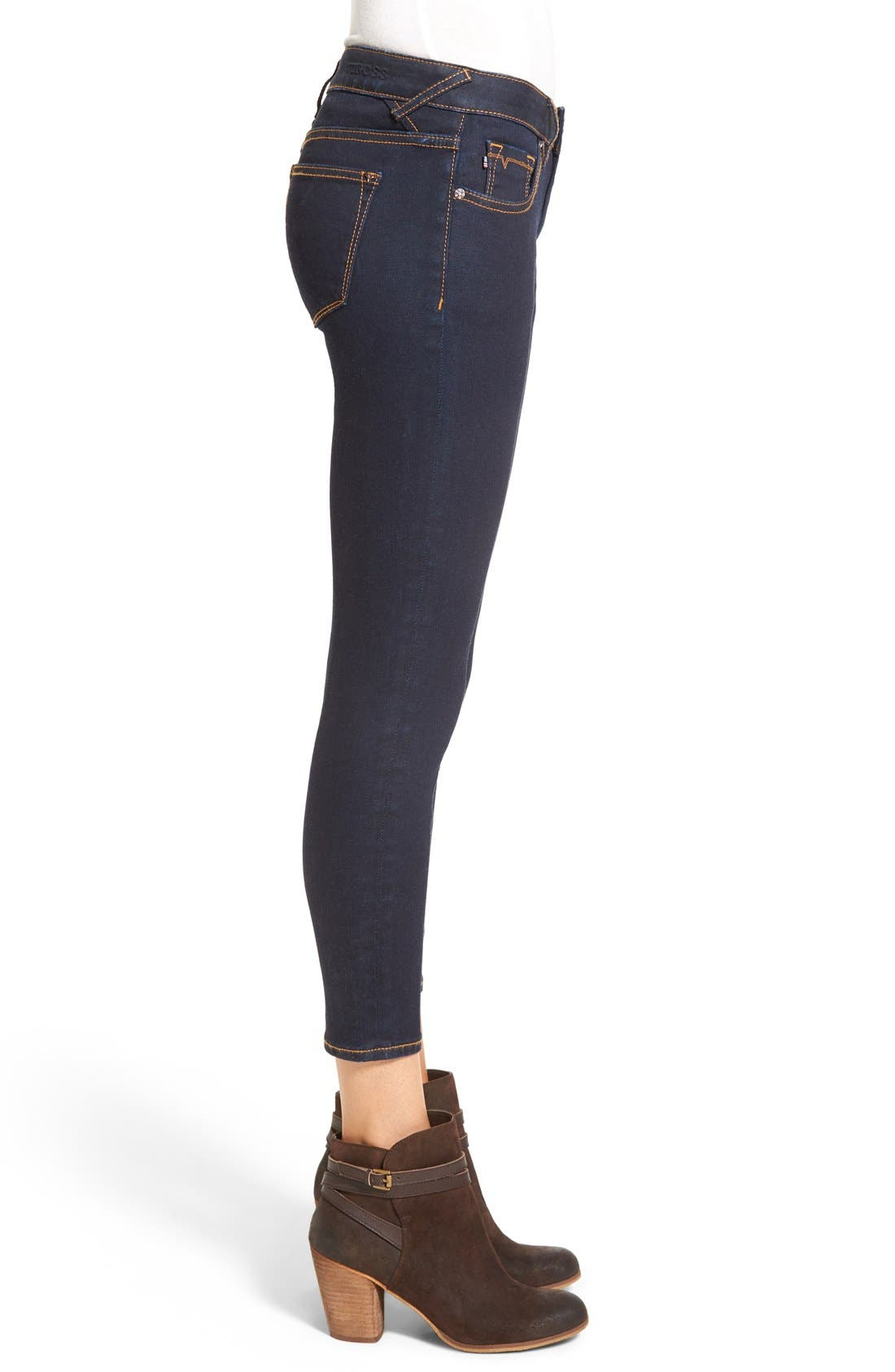 Alternate Image 4  - Vigoss Crop Skinny Jeans
