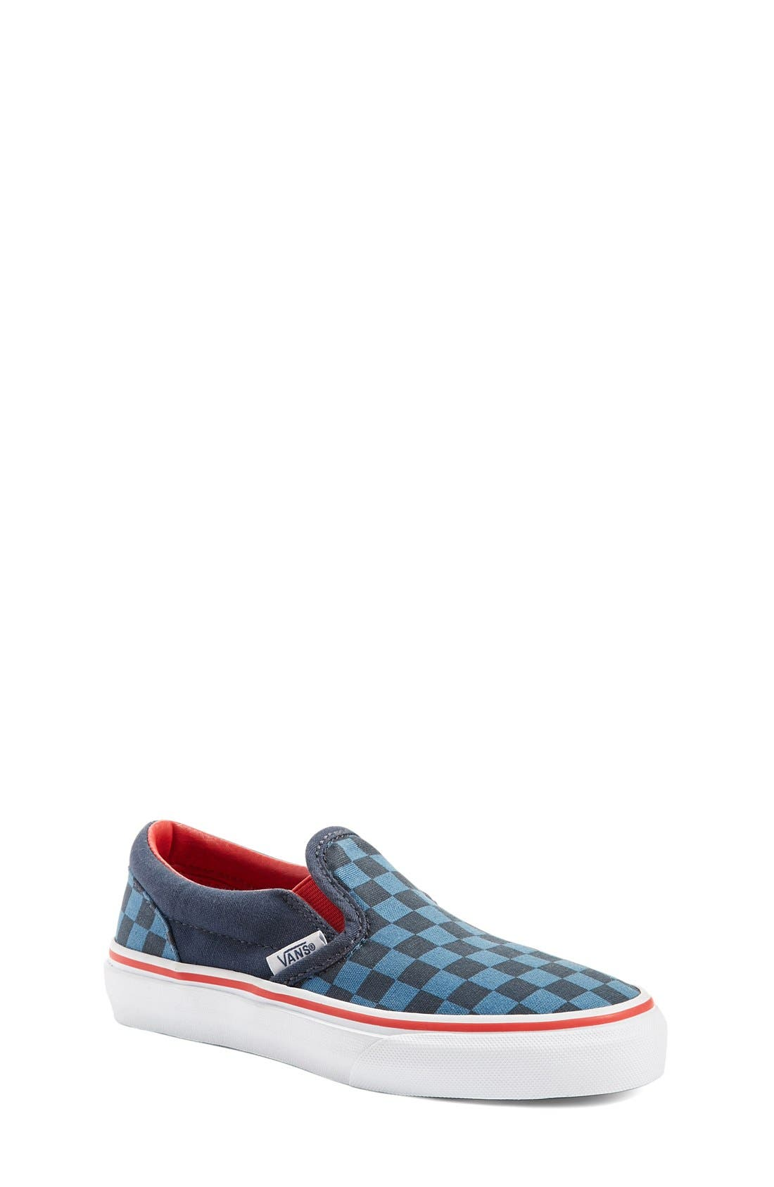 VANS 'Classic' Checkerboard Print Slip-On Sneaker