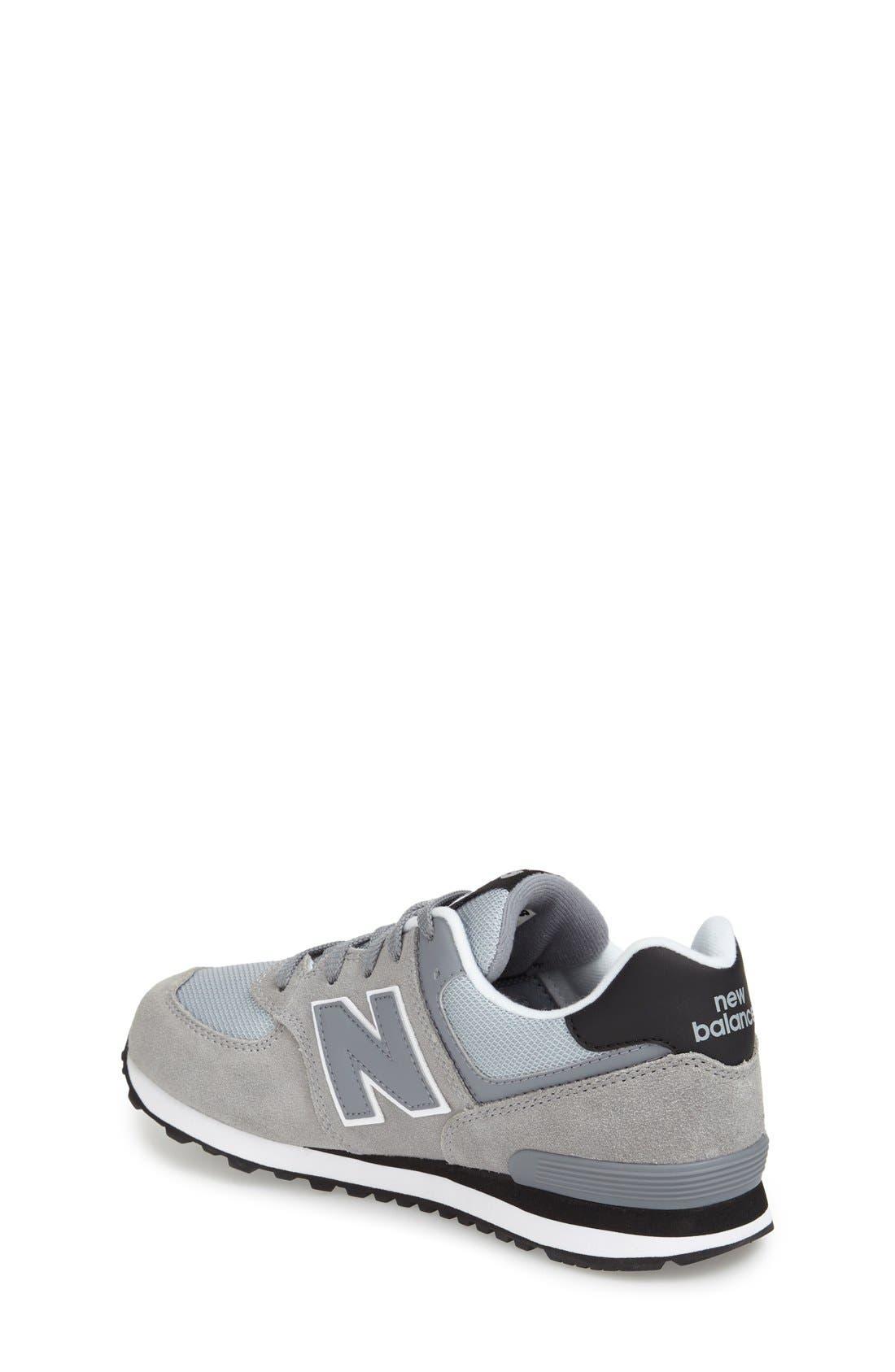 Alternate Image 2  - New Balance '574 Core Plus' Sneaker (Baby, Walker, Toddler, Little Kid & Big Kid)