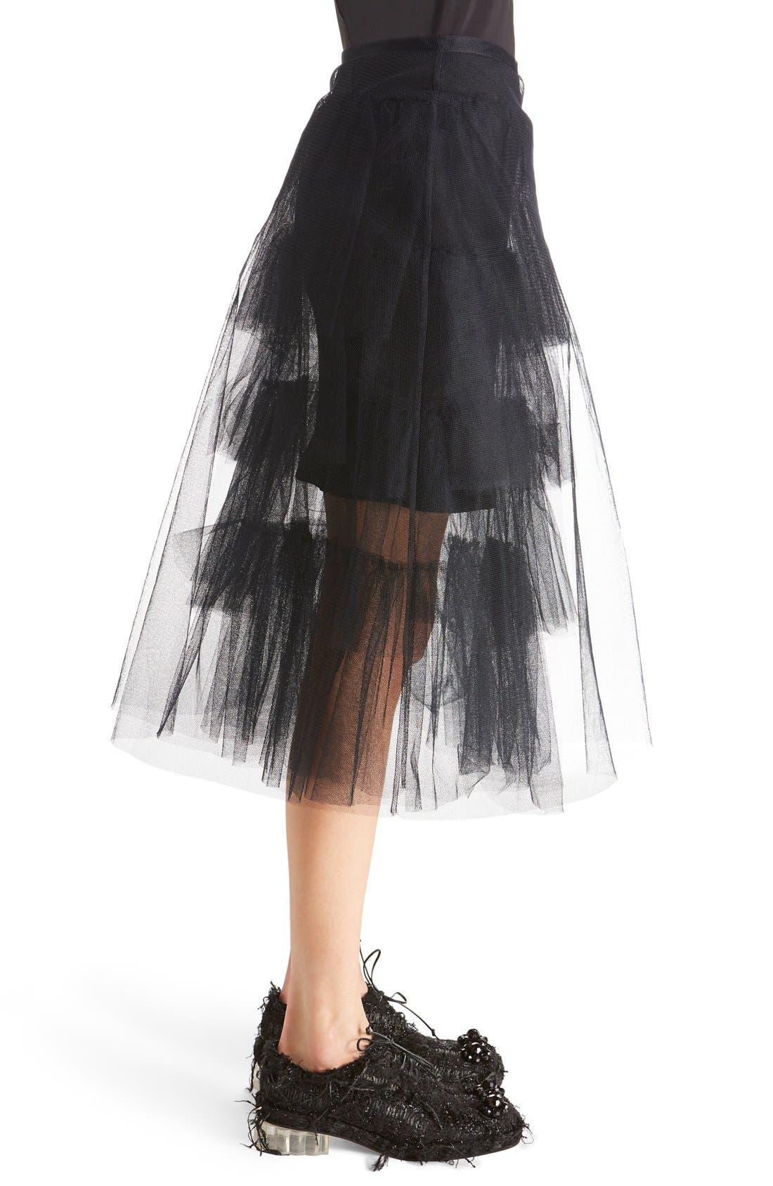 Alternate Image 4  - Simone Rocha Tiered Net Skirt