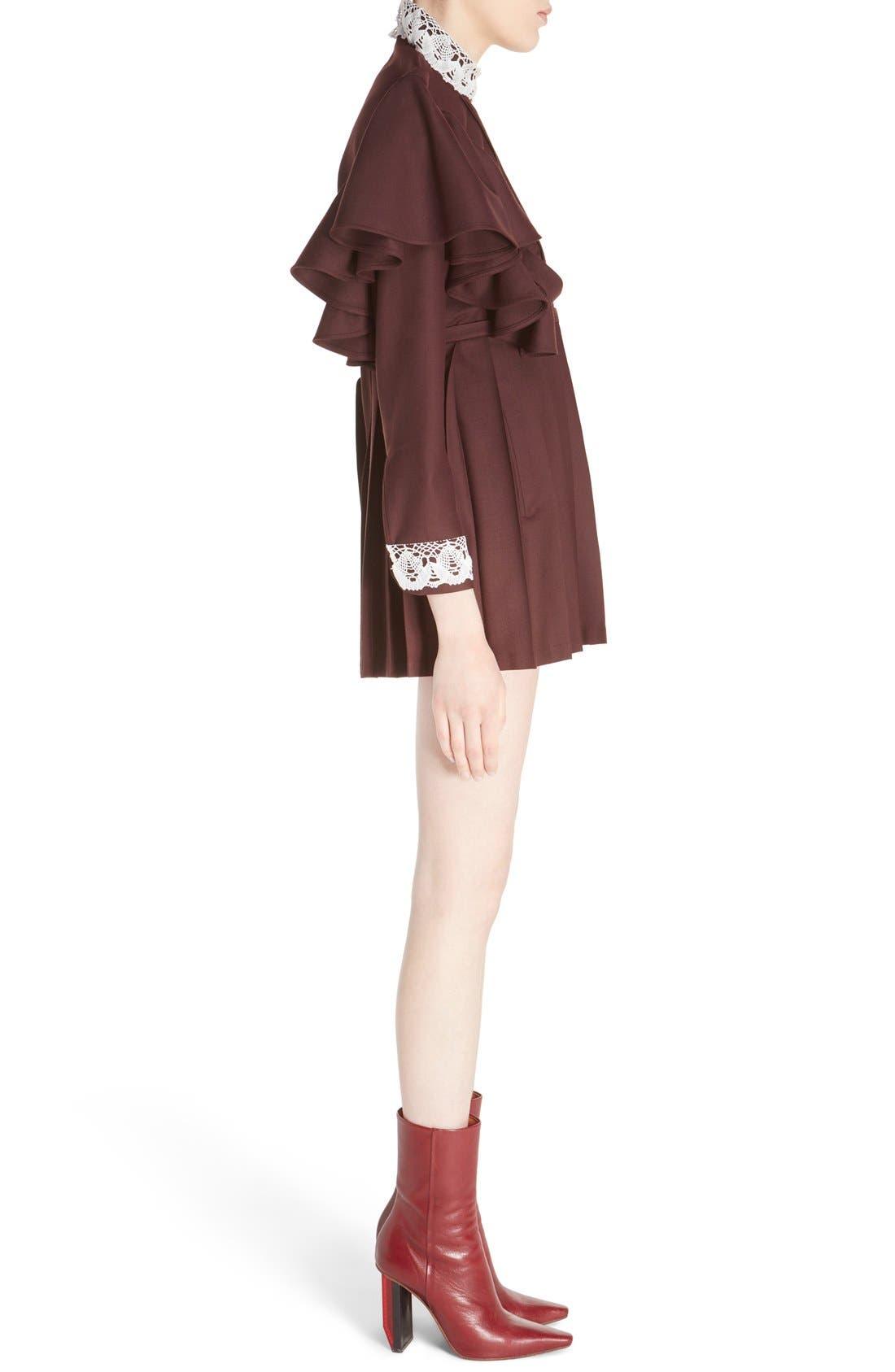 Alternate Image 4  - Vetements 'Schoolgirl' Lace Trim Minidress