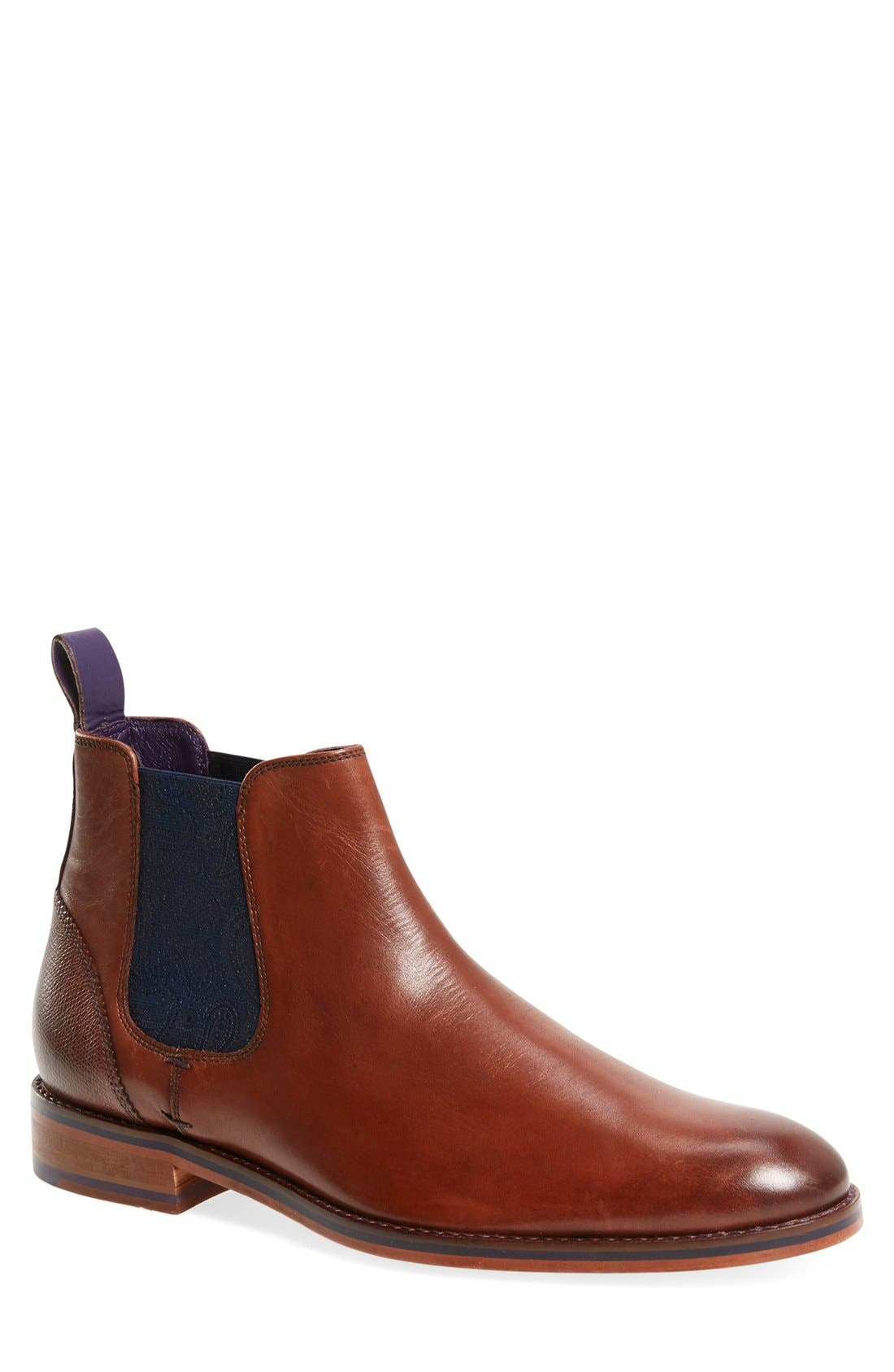 Alternate Image 1 Selected - Ted Baker London 'Camroon 4' Chelsea Boot (Men)