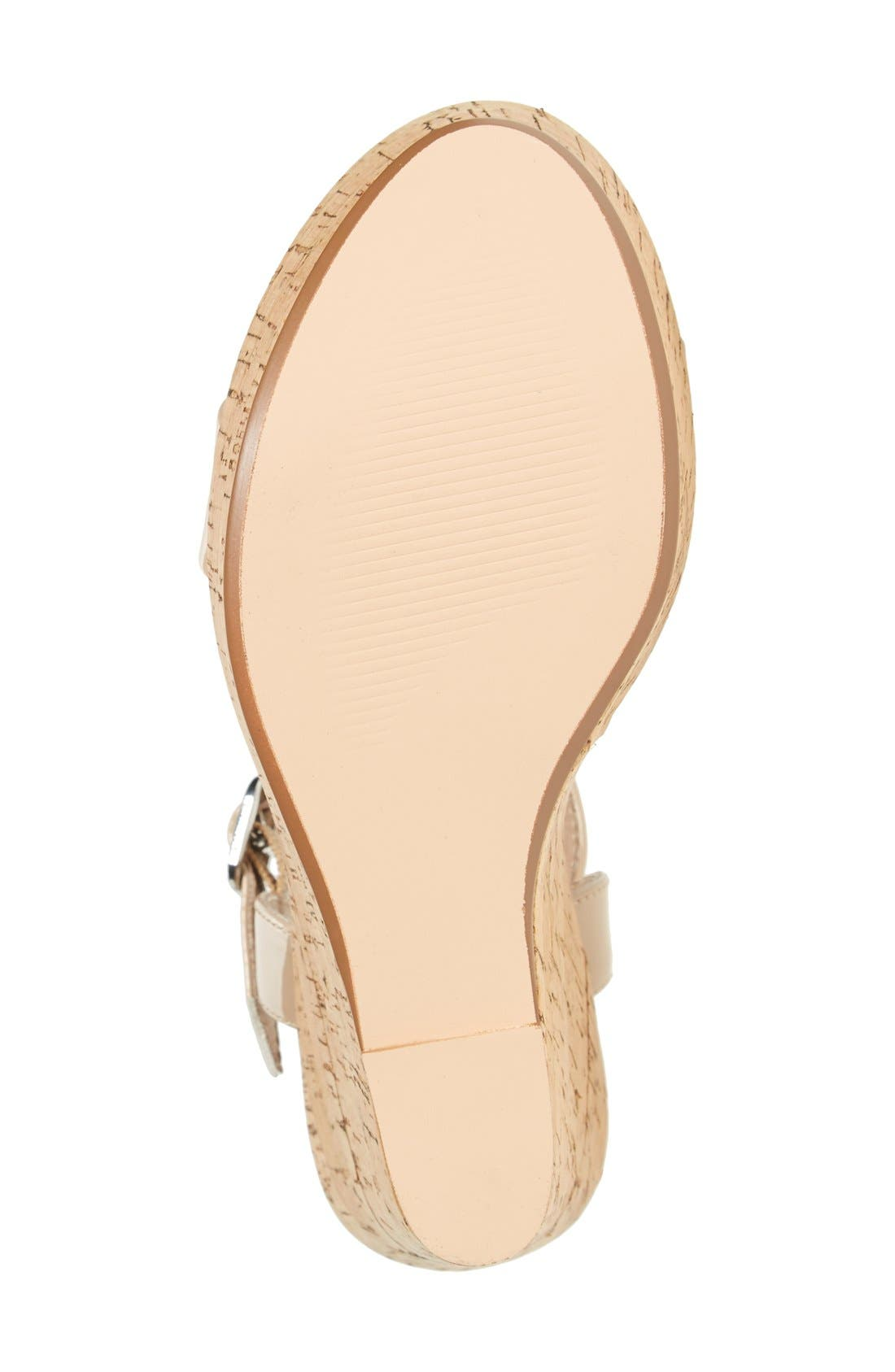 Alternate Image 4  - Steve Madden 'Ellina' Wedge Sandal (Women)