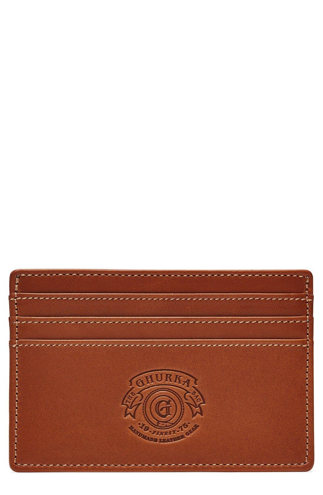 Ghurka Leather Card Case