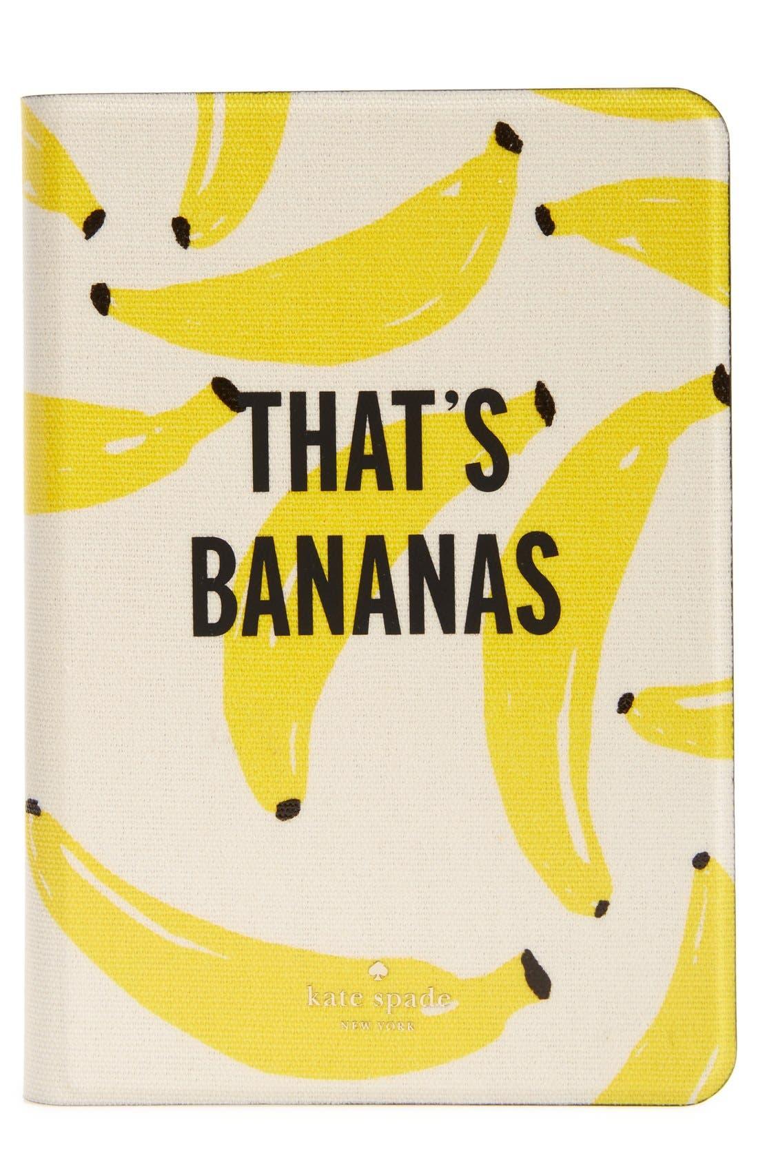 Alternate Image 1 Selected - kate spade new york 'that's bananas' iPad mini & iPad mini 3 case
