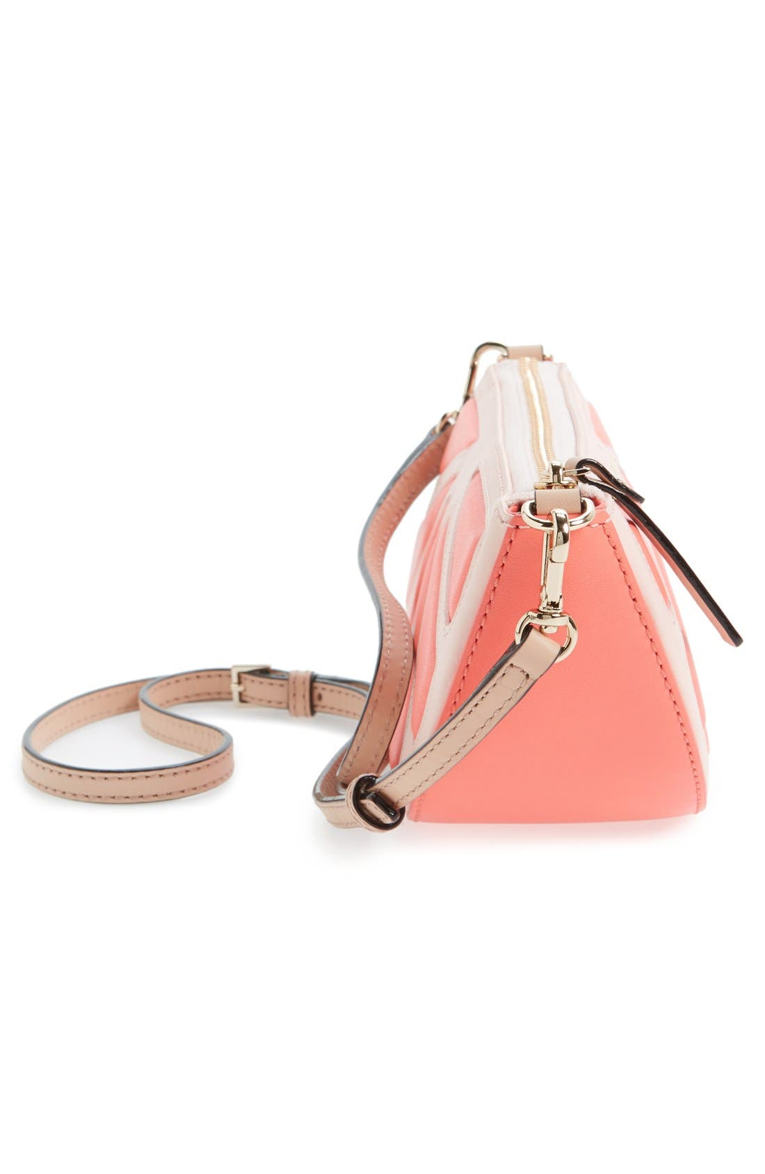 Alternate Image 5  - kate spade new york 'flights of fancy' grapefruit crossbody bag