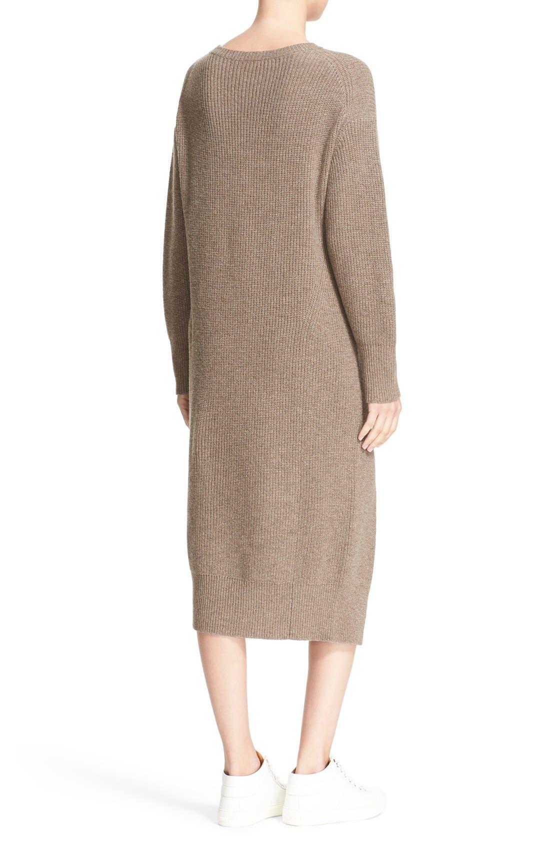 Alternate Image 2  - Sea Wool & Cashmere Midi Sweater Dress