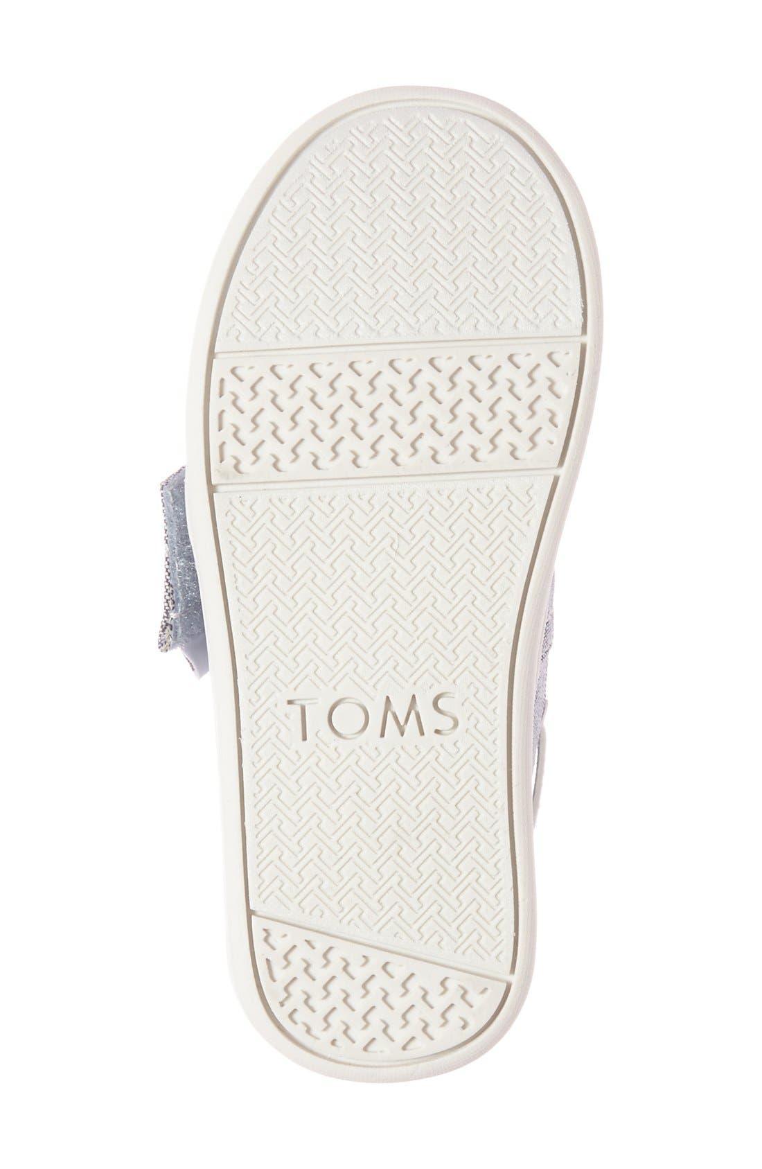 Alternate Image 2  - TOMS 'Bimini - Tiny' Slip-On (Walker & Toddler)