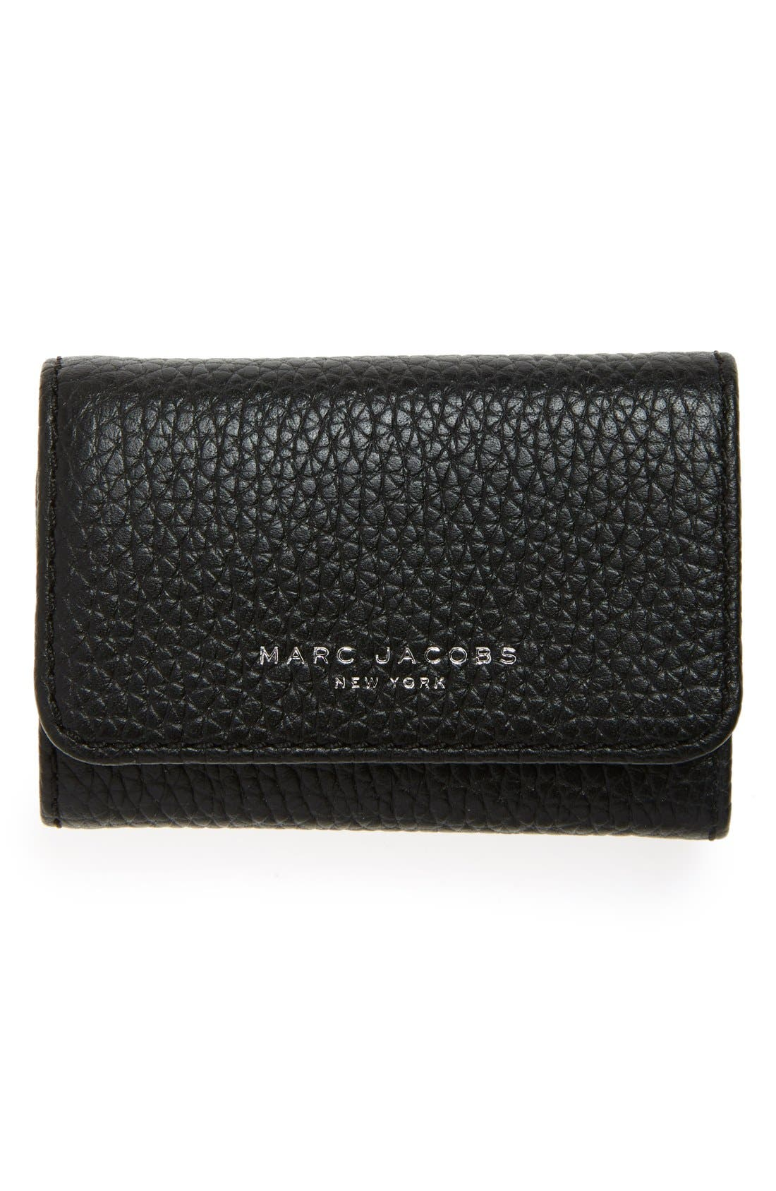 Main Image - MARC JACOBS 'Gotham' Leather Key Case