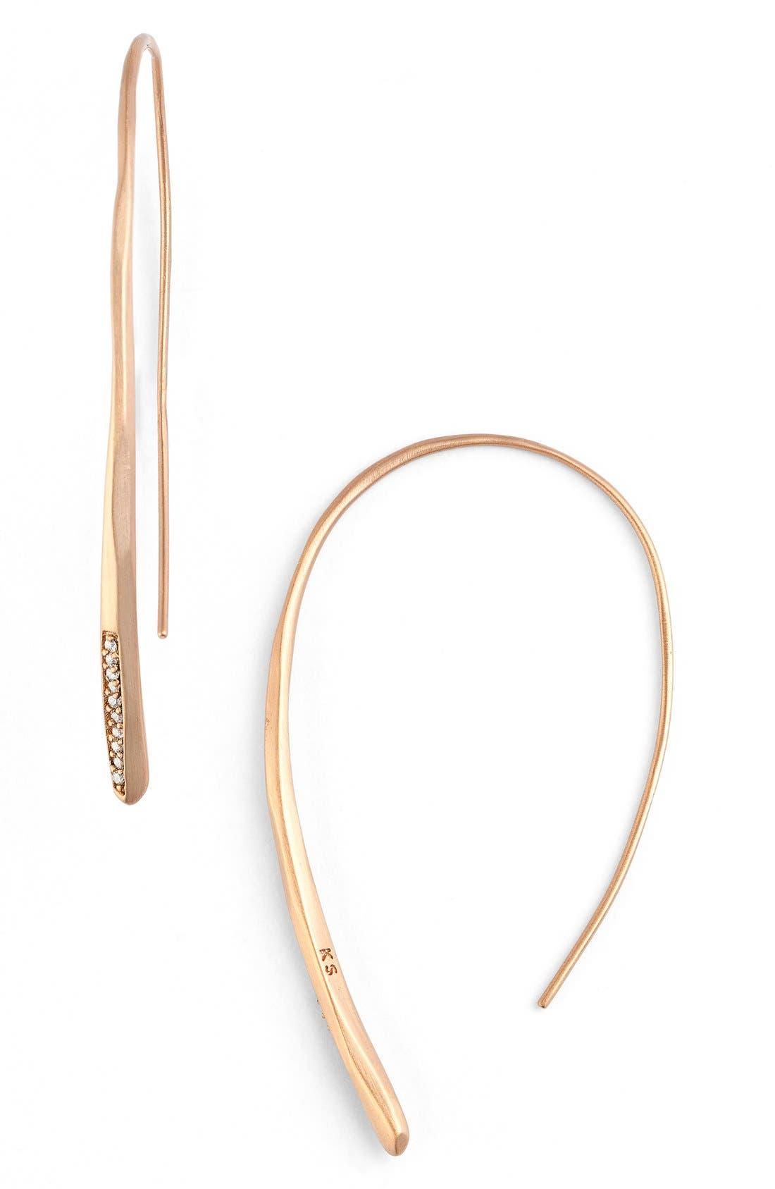 Alternate Image 1 Selected - Kendra Scott 'Julian' Threader Earrings