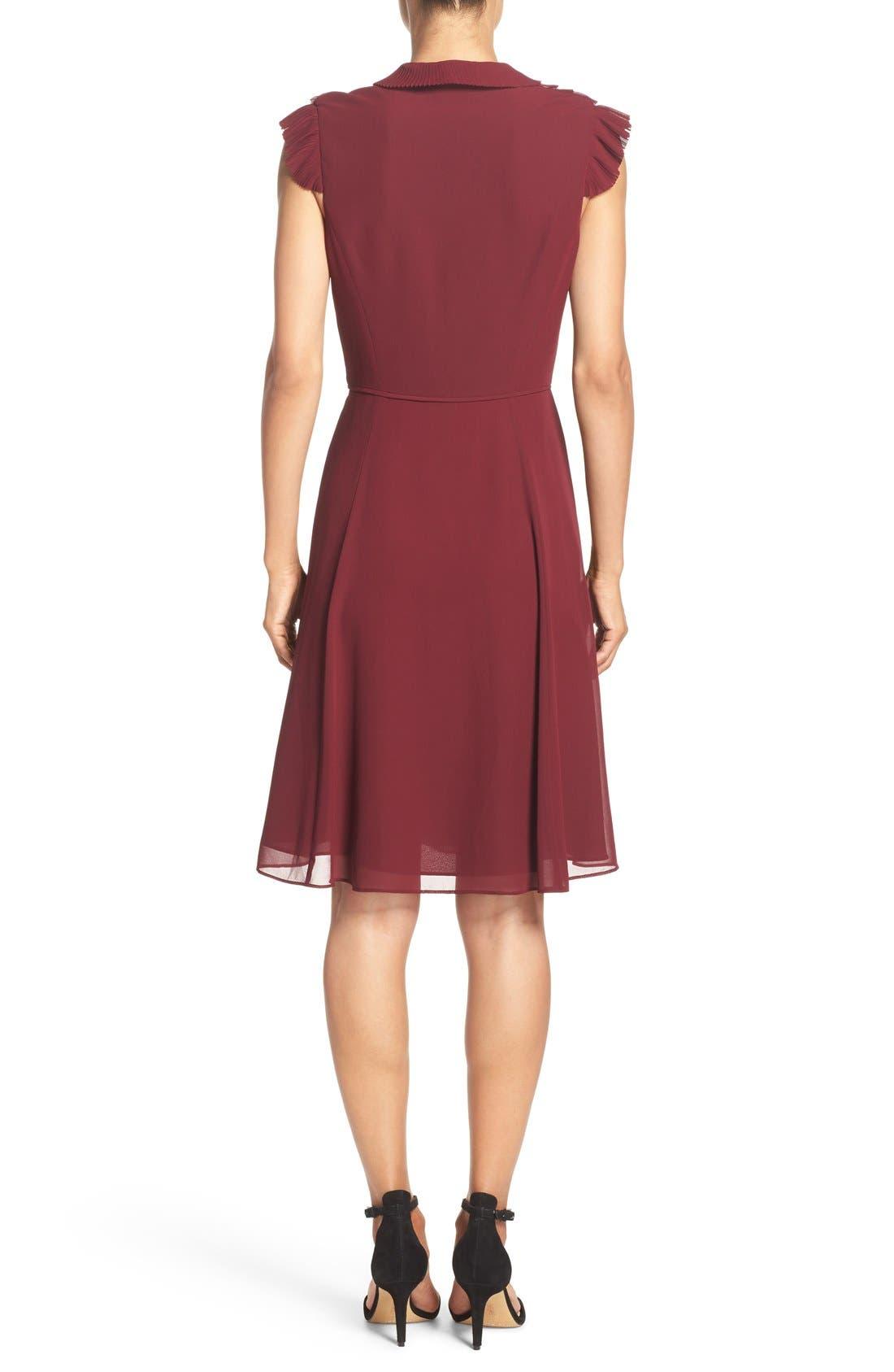 Alternate Image 2  - Adrianna Papell Ruffled A-Line Dress