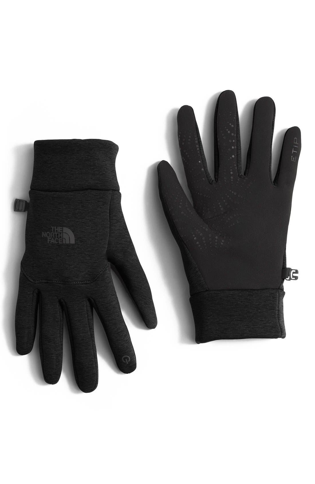 Alternate Image 1 Selected - The North Face 'E-Tip' Fleece Tech Gloves