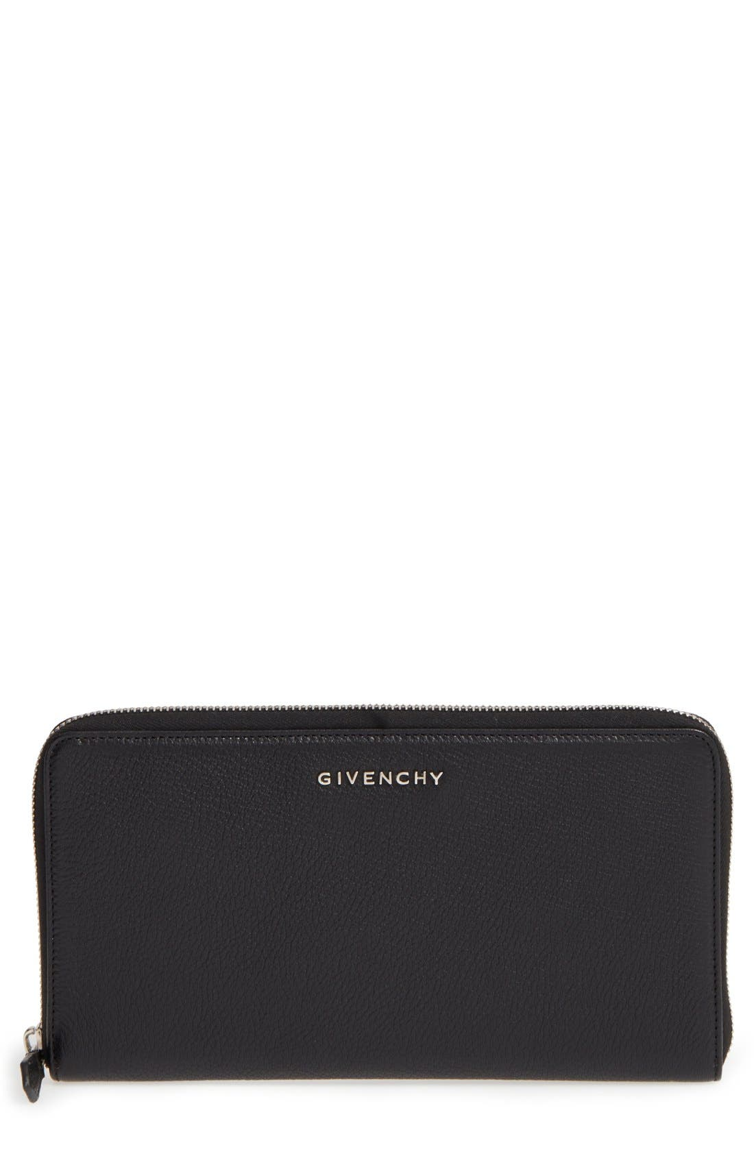 Givenchy Large Leather Travel Wallet