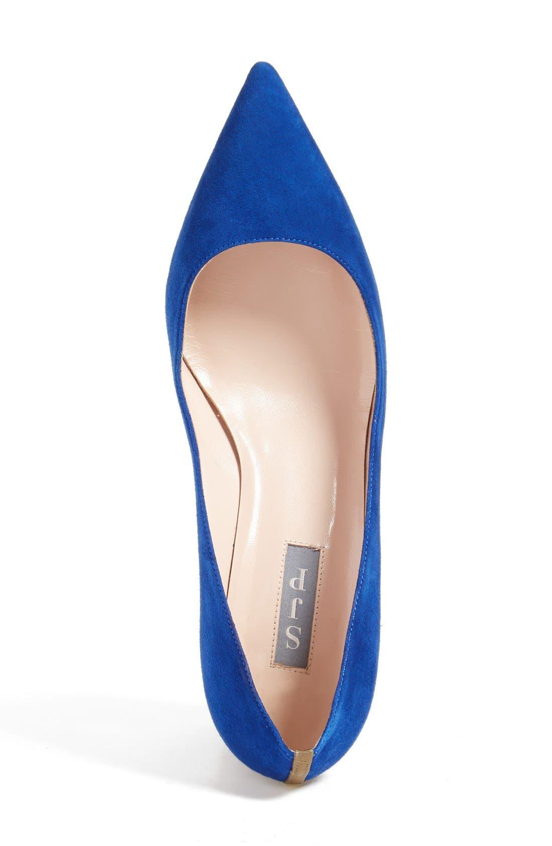 Alternate Image 3  - SJP by Sarah Jessica Parker 'Katrina' Pointy Toe Block Heel Pump (Women)