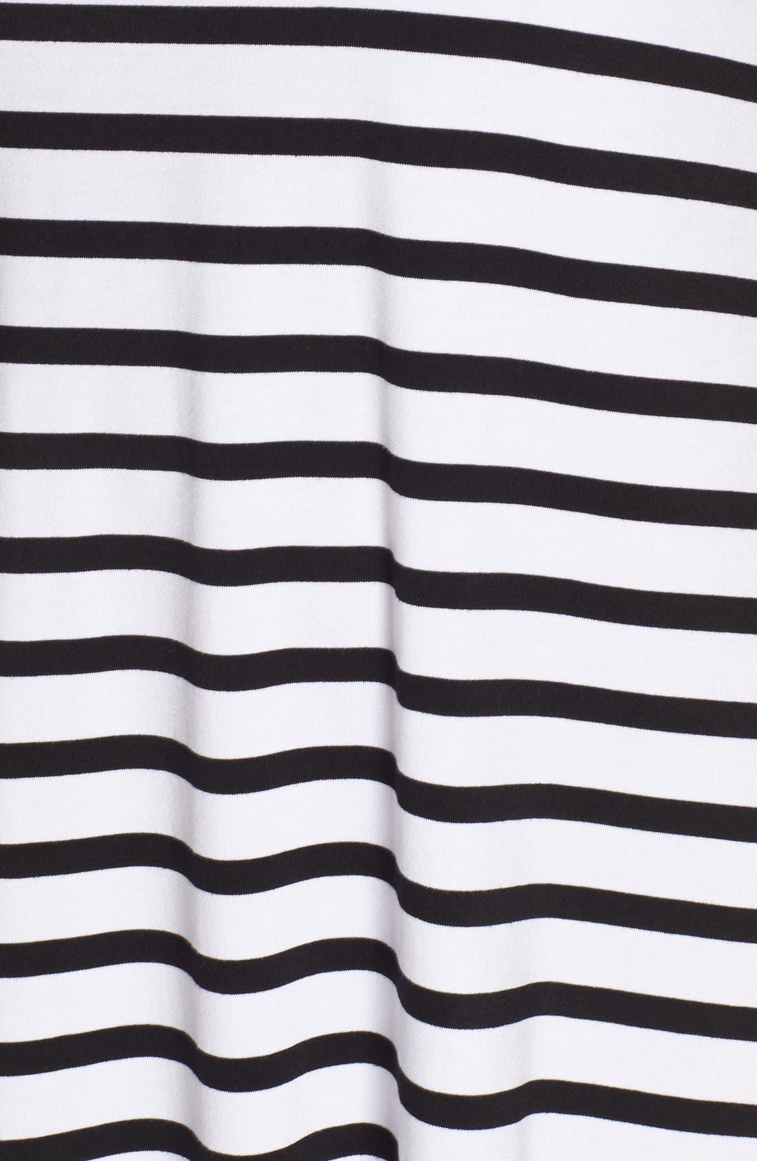 Alternate Image 5  - Press Stripe Sleeveless A-Line Dress