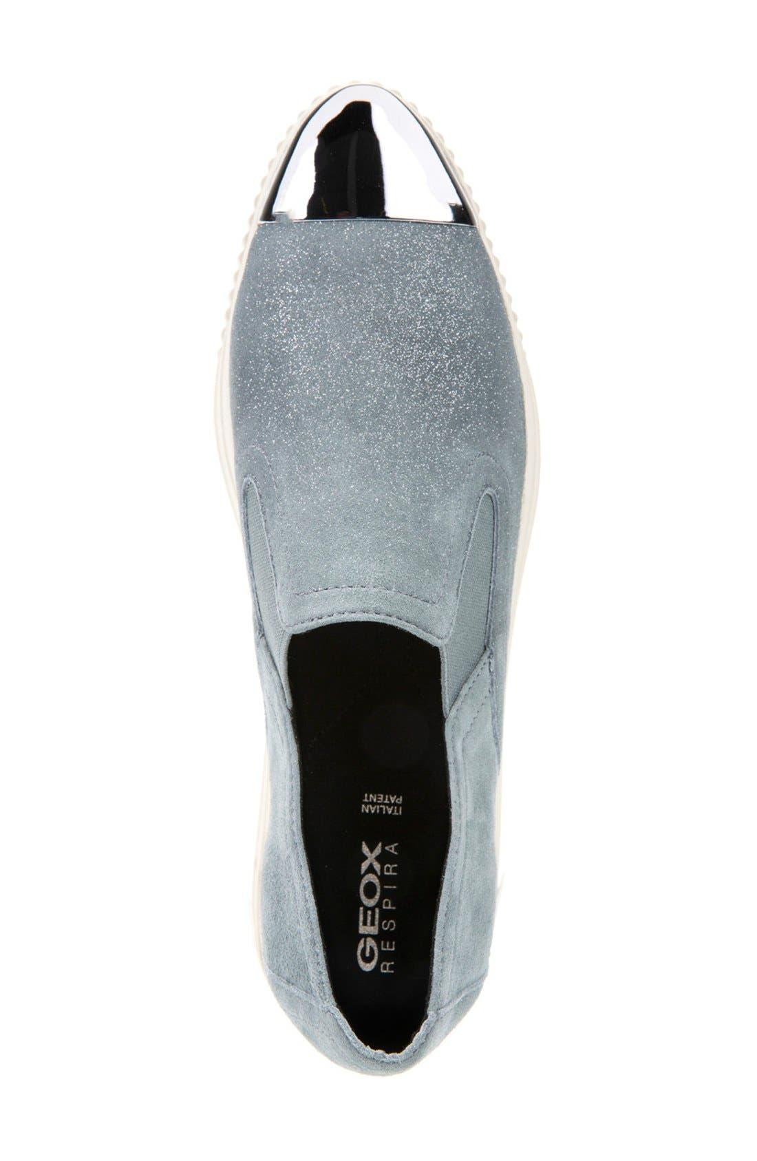 Alternate Image 3  - Geox 'Amalthia' Cap Toe Sneaker (Women)