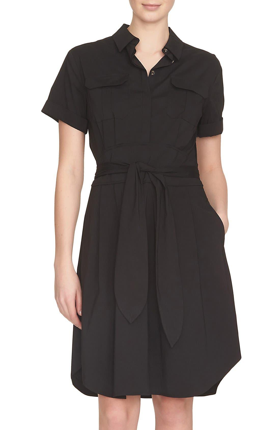 Alternate Image 1 Selected - Cynthia Steffe Maya Belted Shirtdress (Nordstrom Exclusive)
