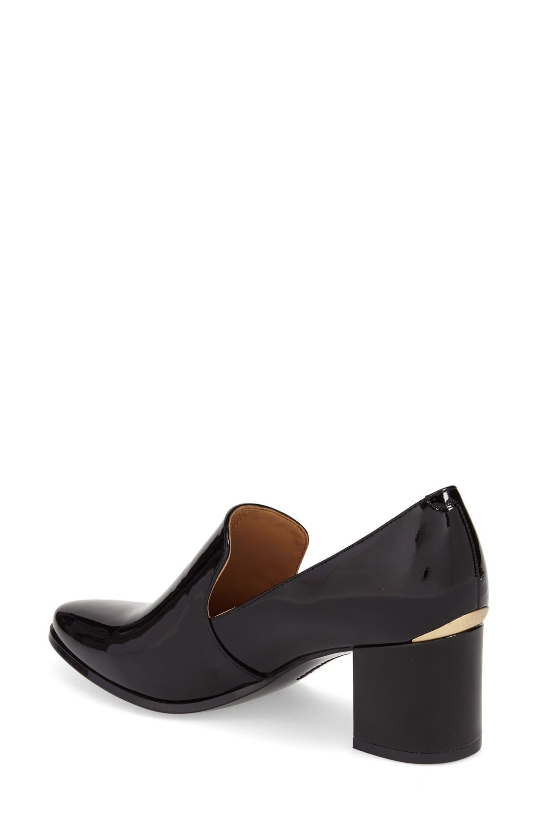 Alternate Image 2  - Calvin Klein 'Faye' Block Heel Pump (Women)