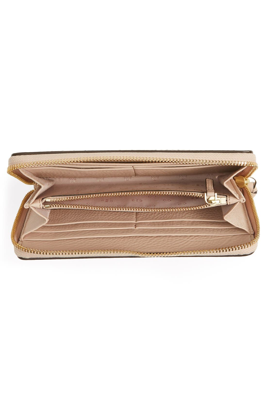 Alternate Image 4  - Tory Burch 'Zoey' Zip Continental Wallet