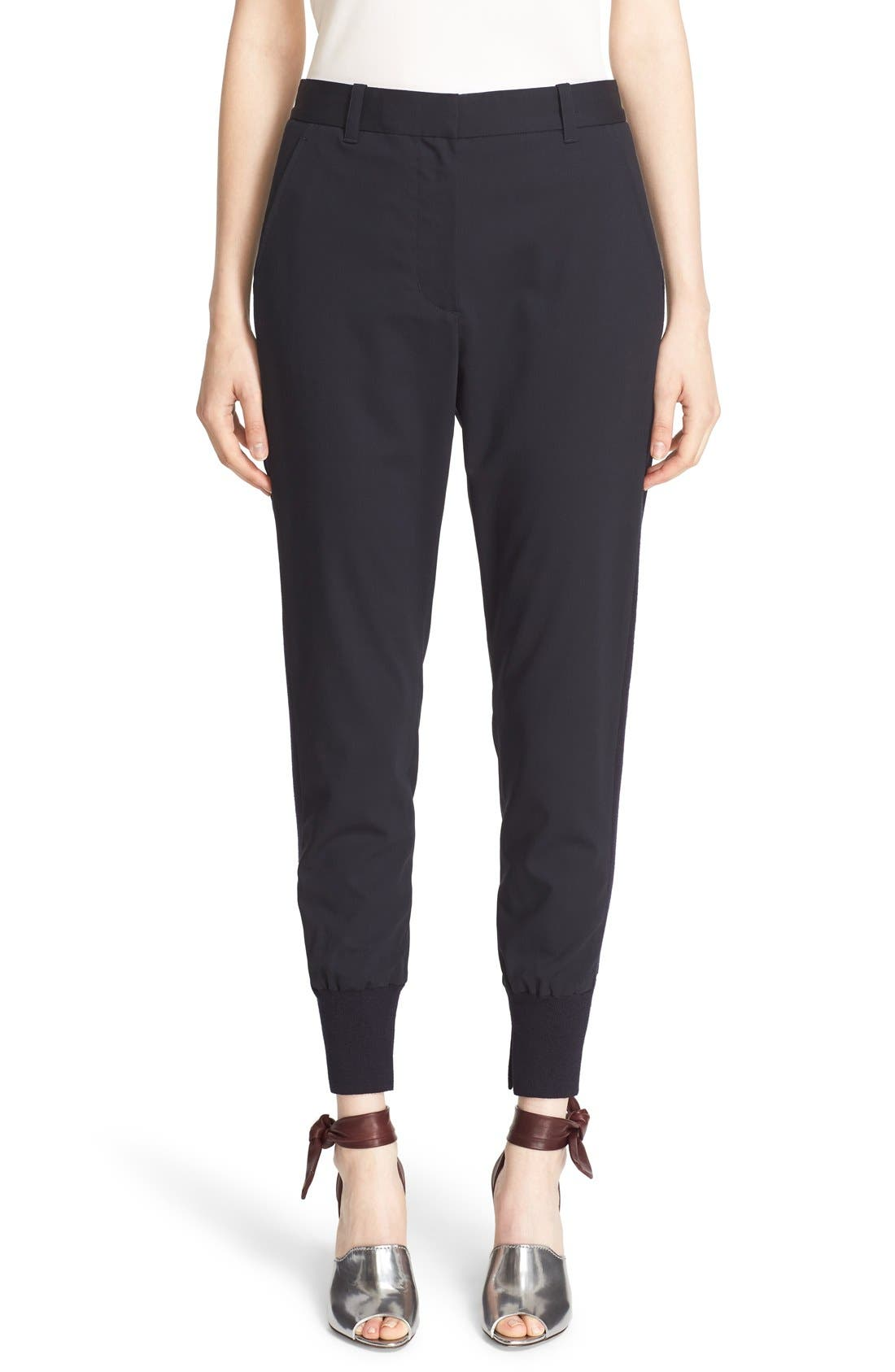 3.1 PHILLIP LIM Rib Stripe Jogger Pants