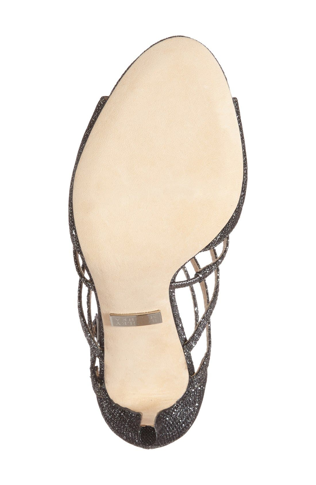 Alternate Image 4  - Badgley Mischka 'Devon' Strappy Sandal (Women)