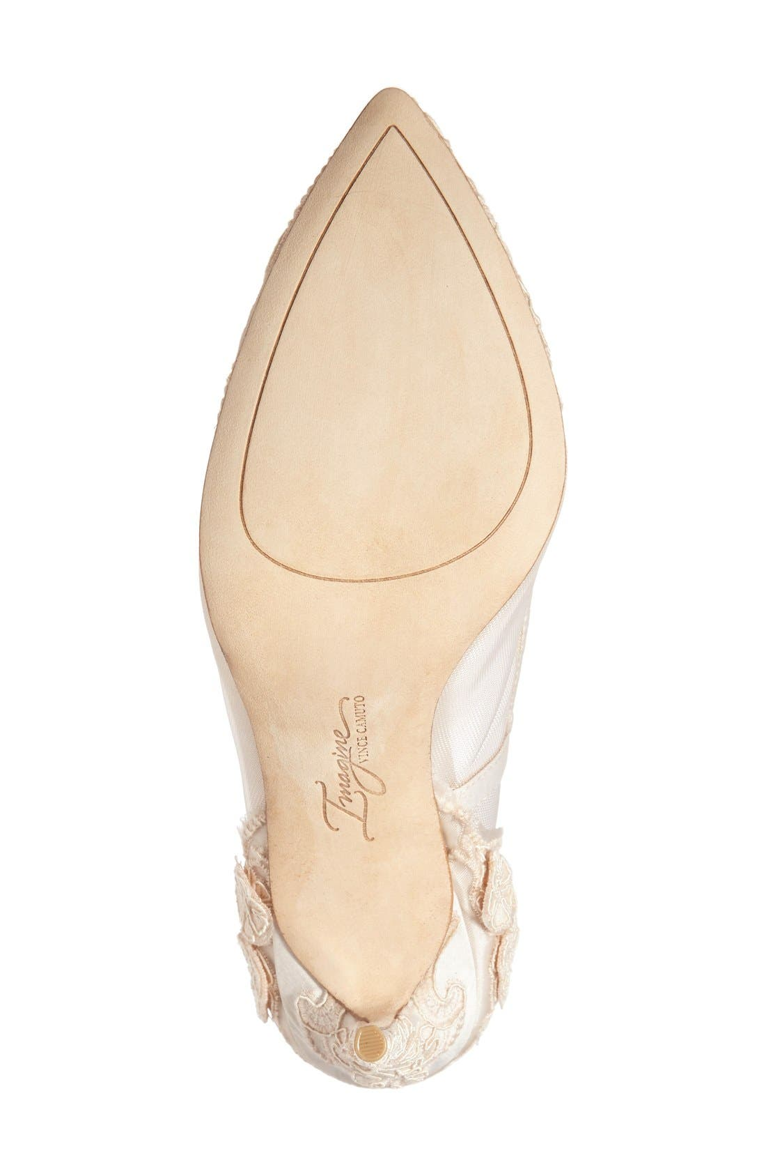 Alternate Image 4  - Imagine by Vince Camuto 'Ophelia' Pointy Toe Pump (Women)